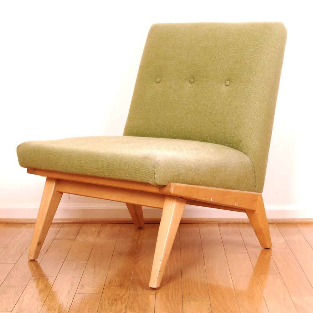 Mid Century Modern Chair By Jens Risom For H.G. Knoll ...
