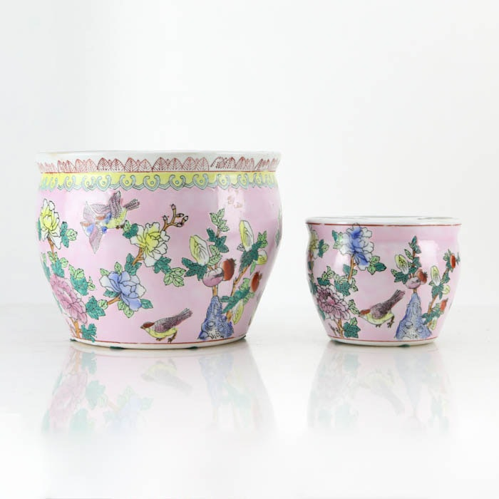 Chinese Ceramic Jardinieres