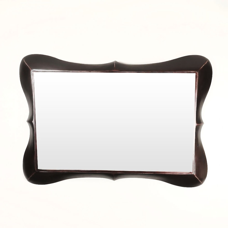 Chocolate Brown Decorative Wall Mirror By Coaster Fine Furniture