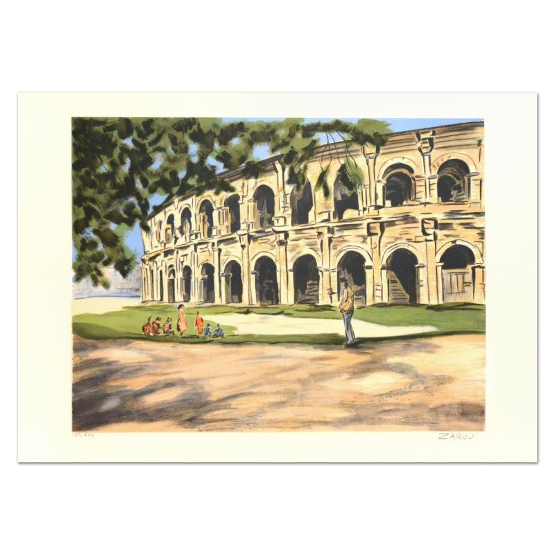 """Arles"" Limited Edition Lithograph"