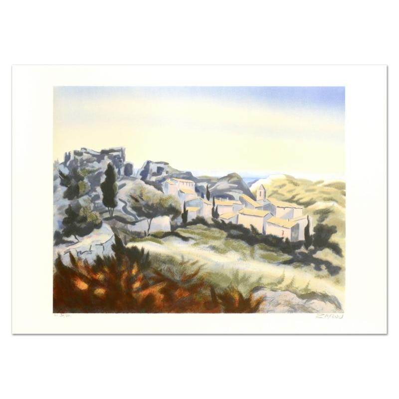 """Les Baux"" Limited Edition Lithograph"