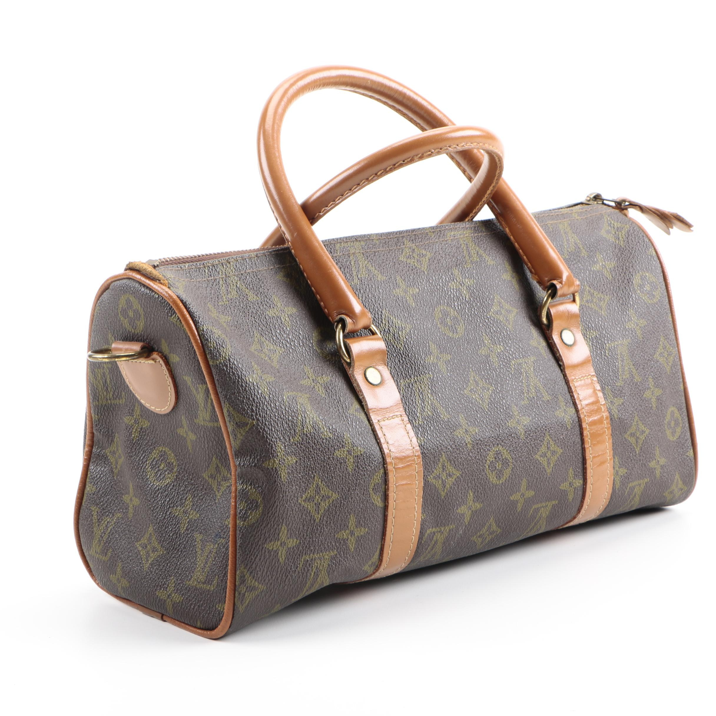 Vintage Louis Vuitton French Company Duffle