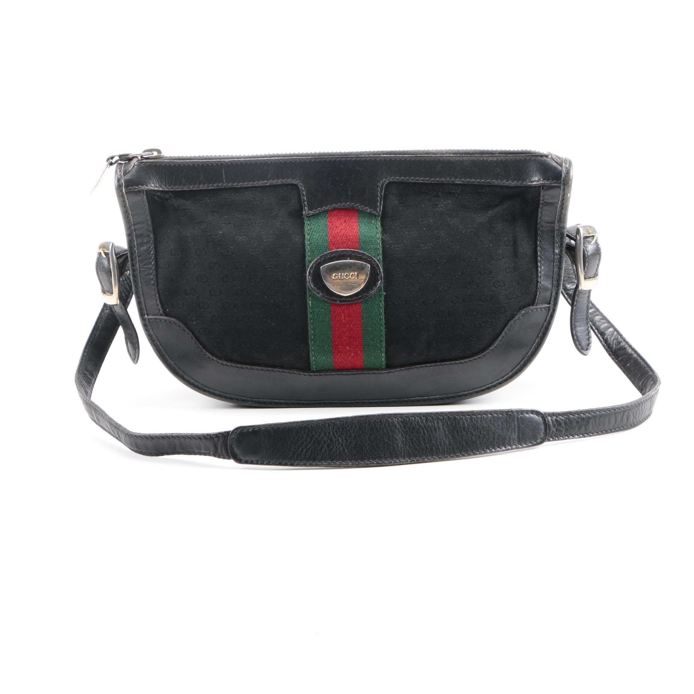 Vintage Gucci Monogram Canvas handbag