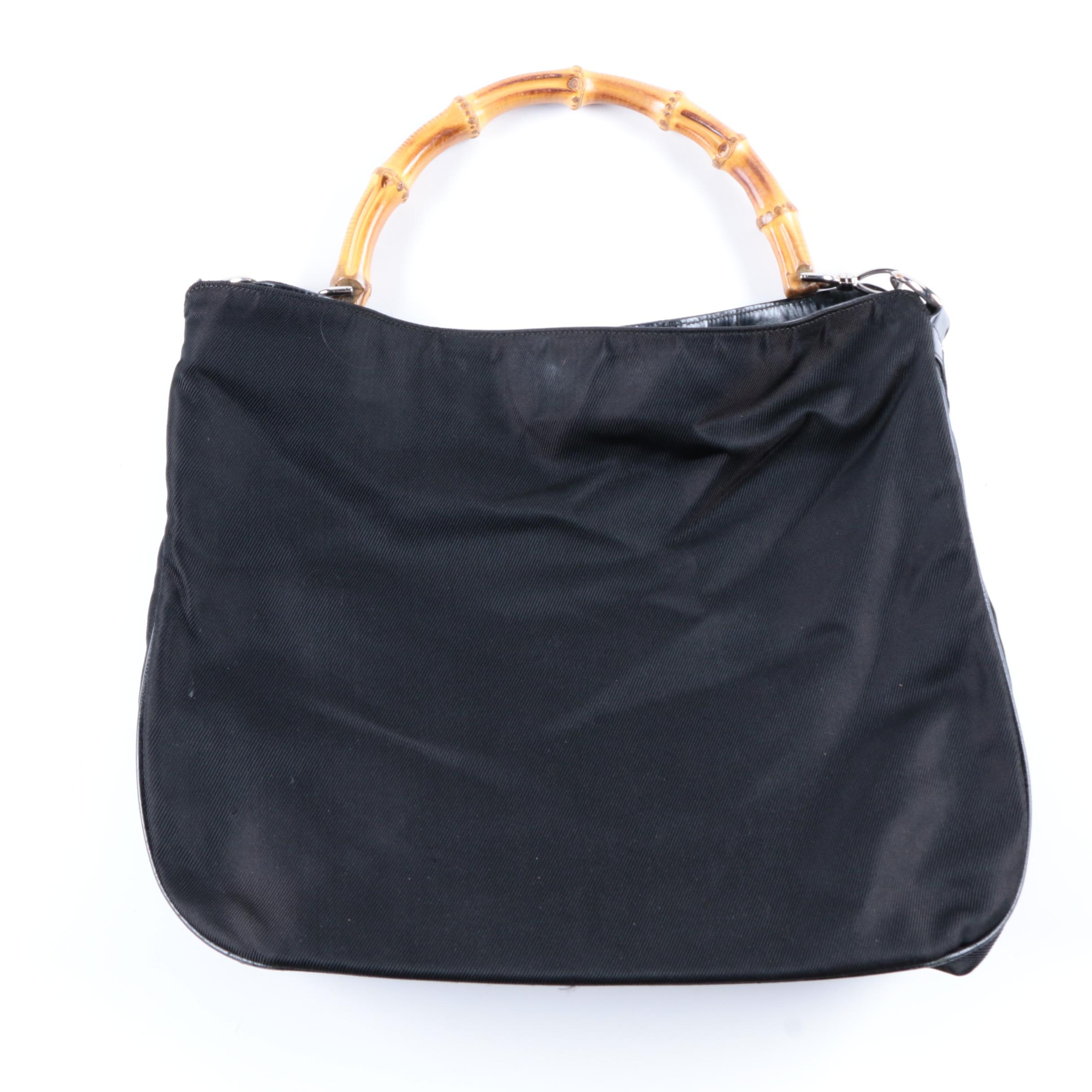 Gucci Bamboo Handle Shoulder Bag