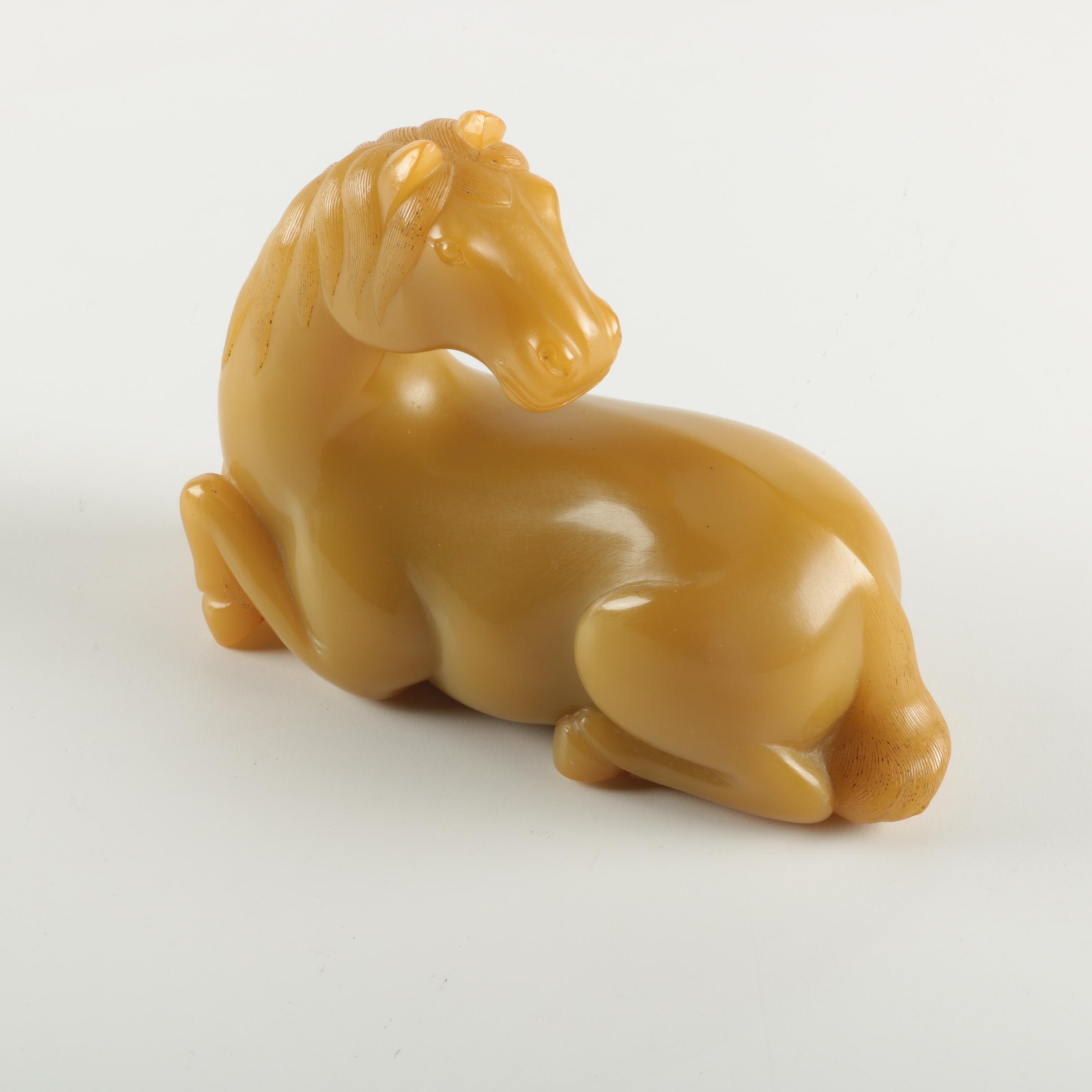 Vintage Horse Figurine