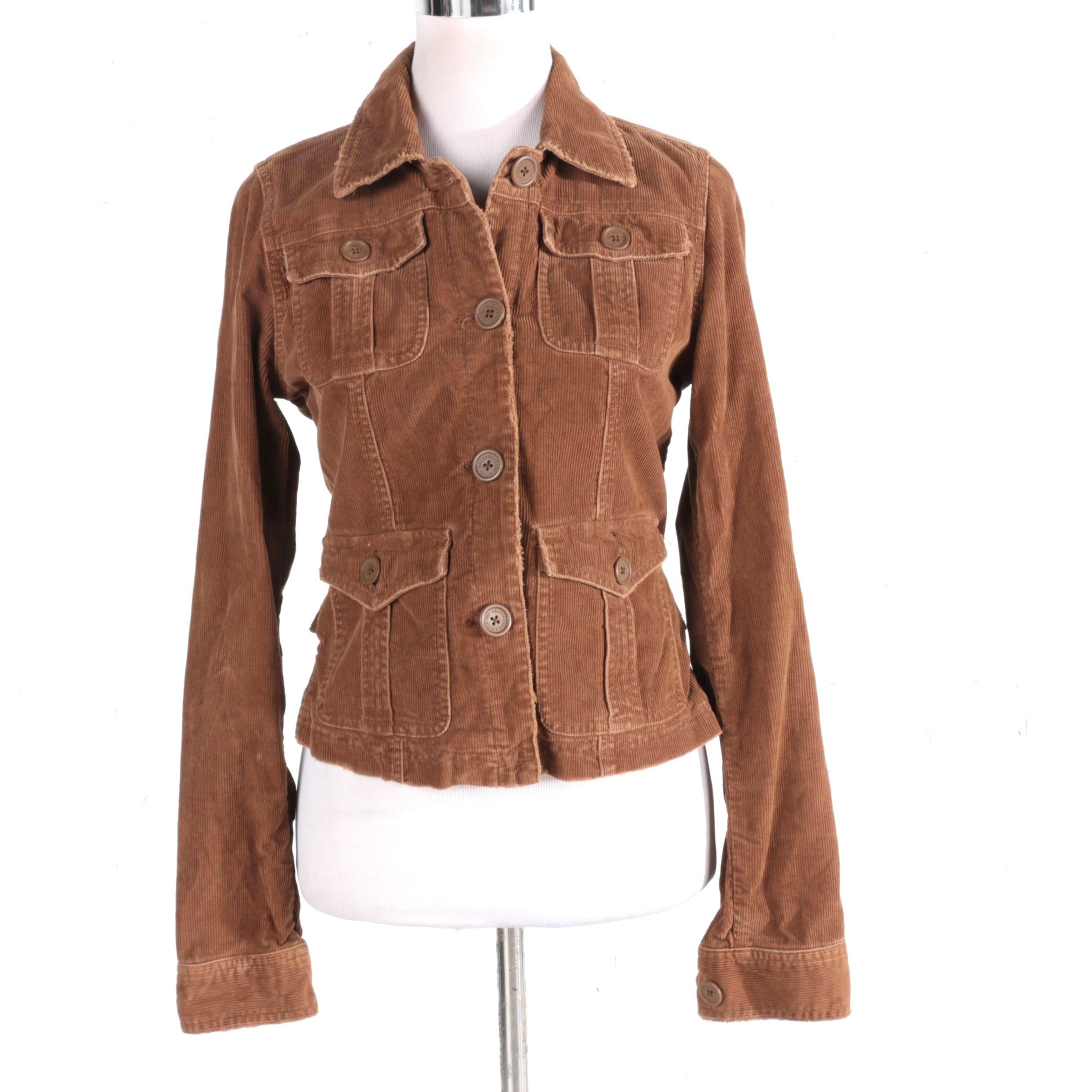 Abercrombie & Fitch Women's Corduroy Jacket