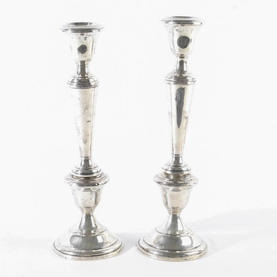 Fisher Weighted Sterling Silver Candlesticks