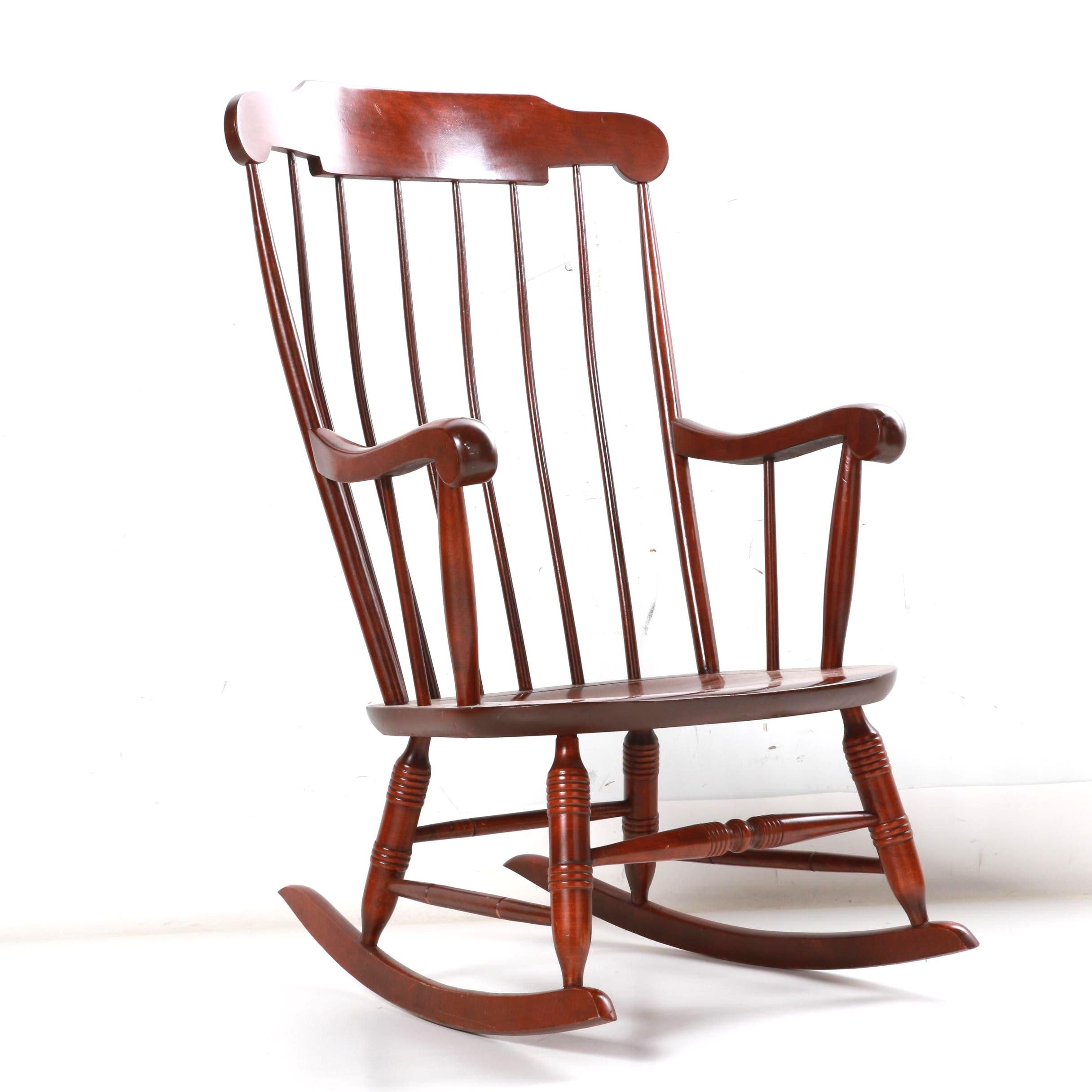 Cherry Rocking Chair by Nichols & Stone Co.