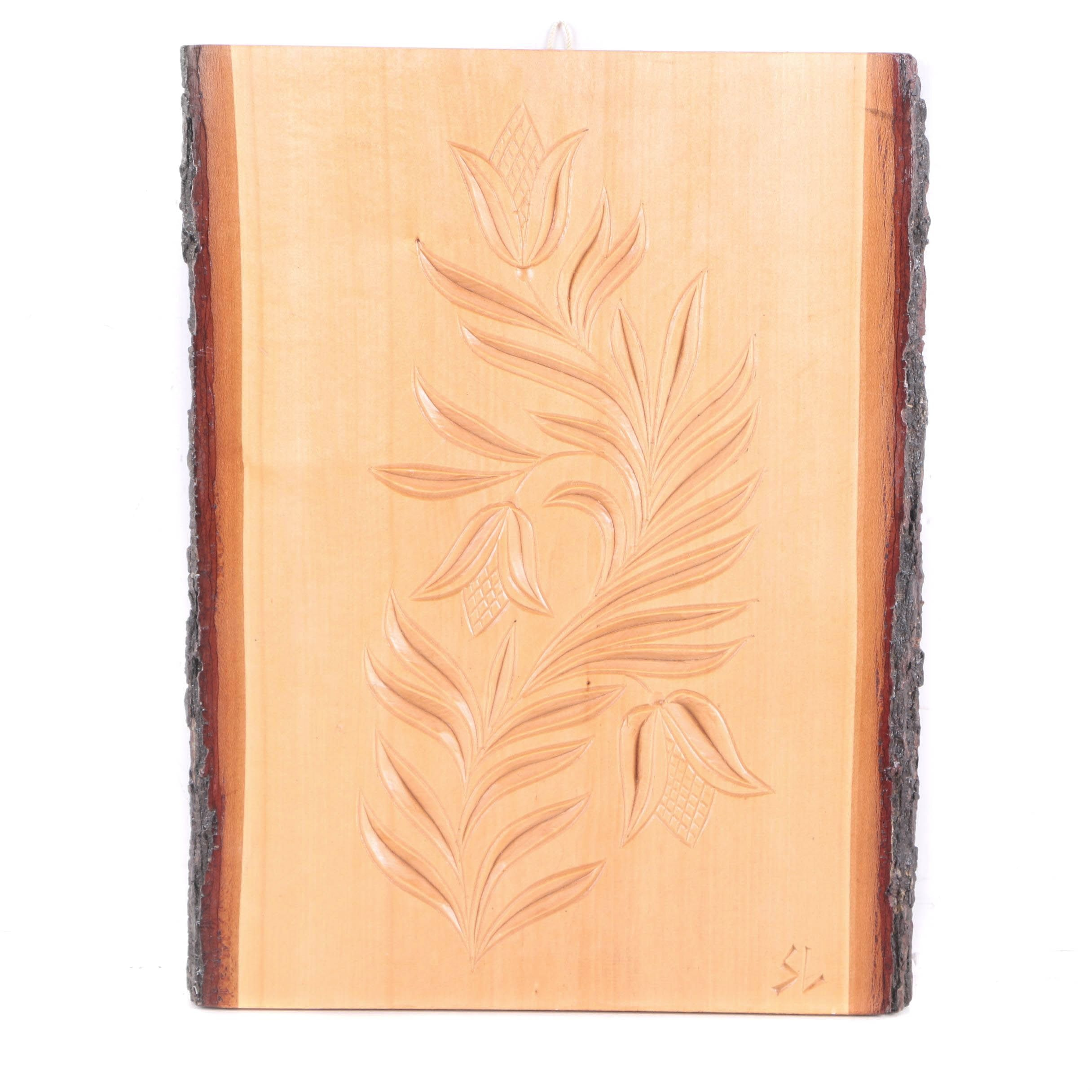 Székelyföld Woodcarving On Board
