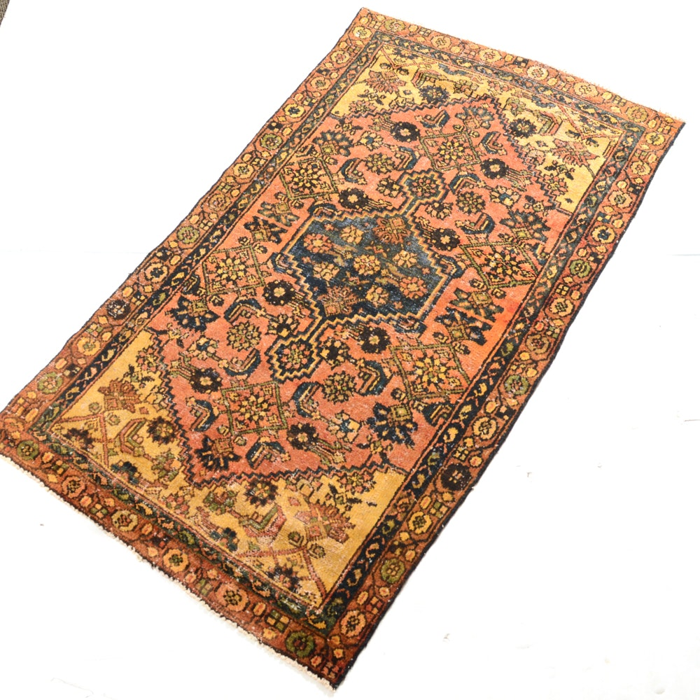 Semi-Antique Hand-Knotted Northwest Persian Rug