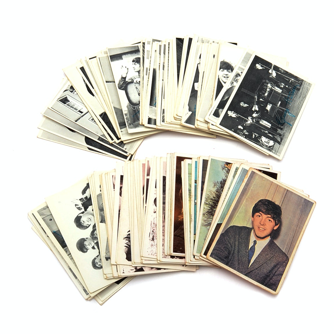 Generous Collection 1964 Topps Beatles Cards