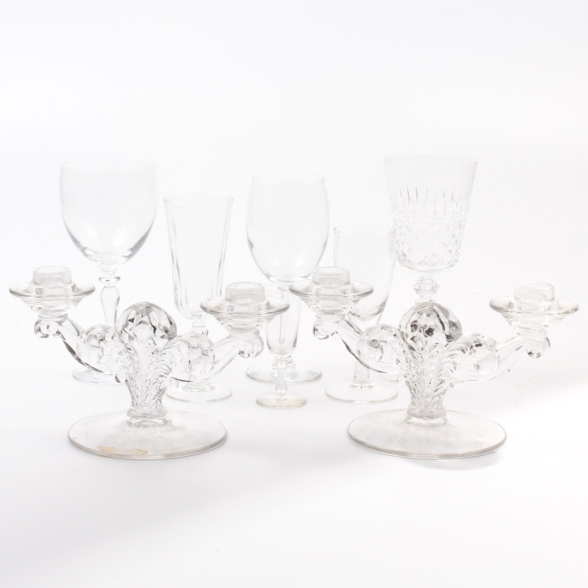 Glass and Crystal Stemware Collection