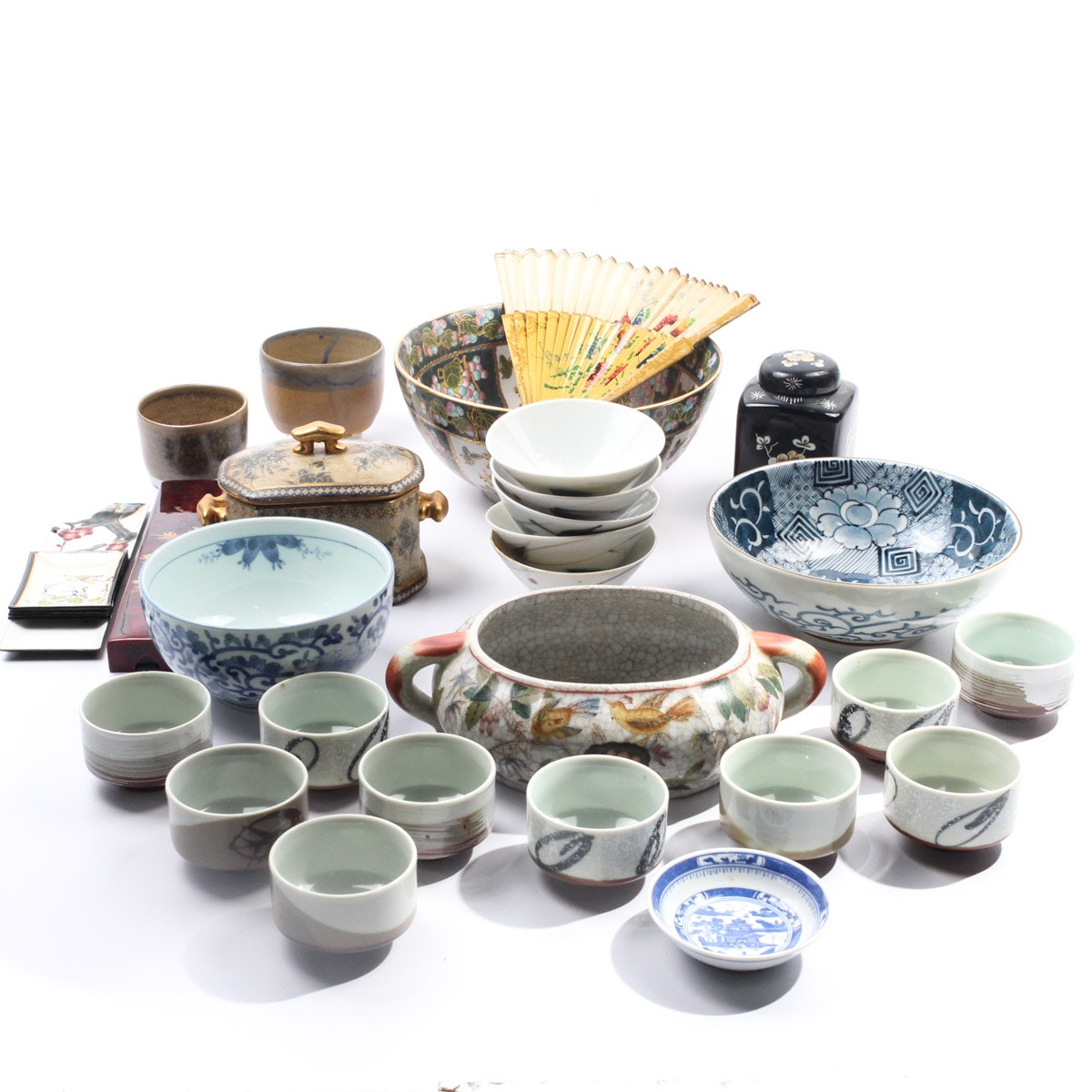 Collection of Asian Inspired Ceramics