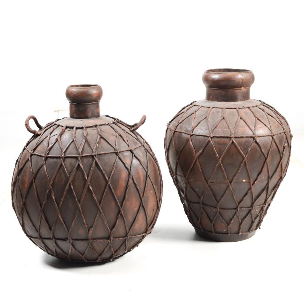 Indian Metal Vases
