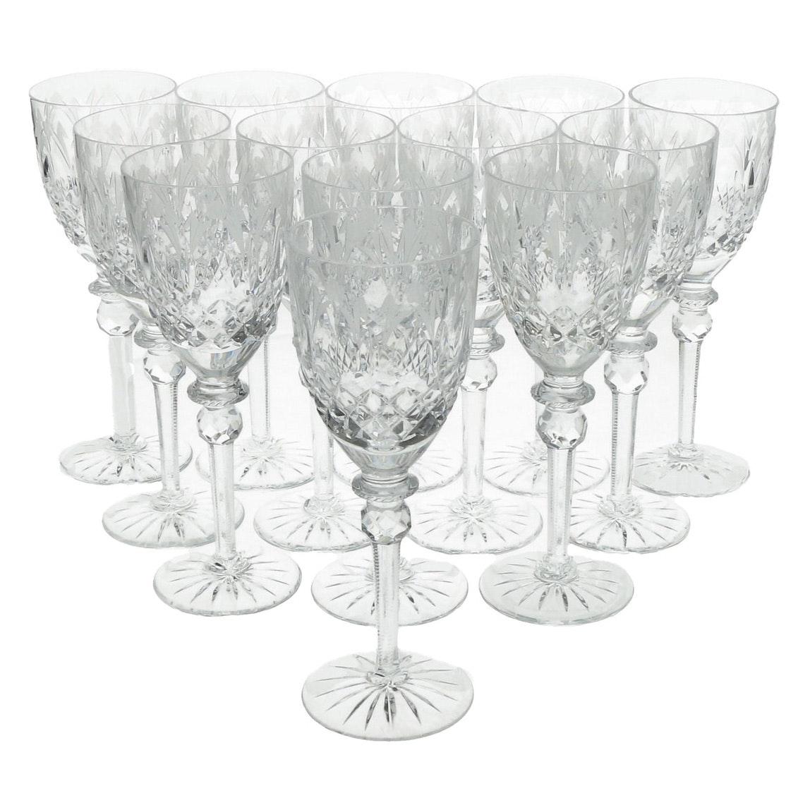 Yugoslavian Crystal Wine Glasses