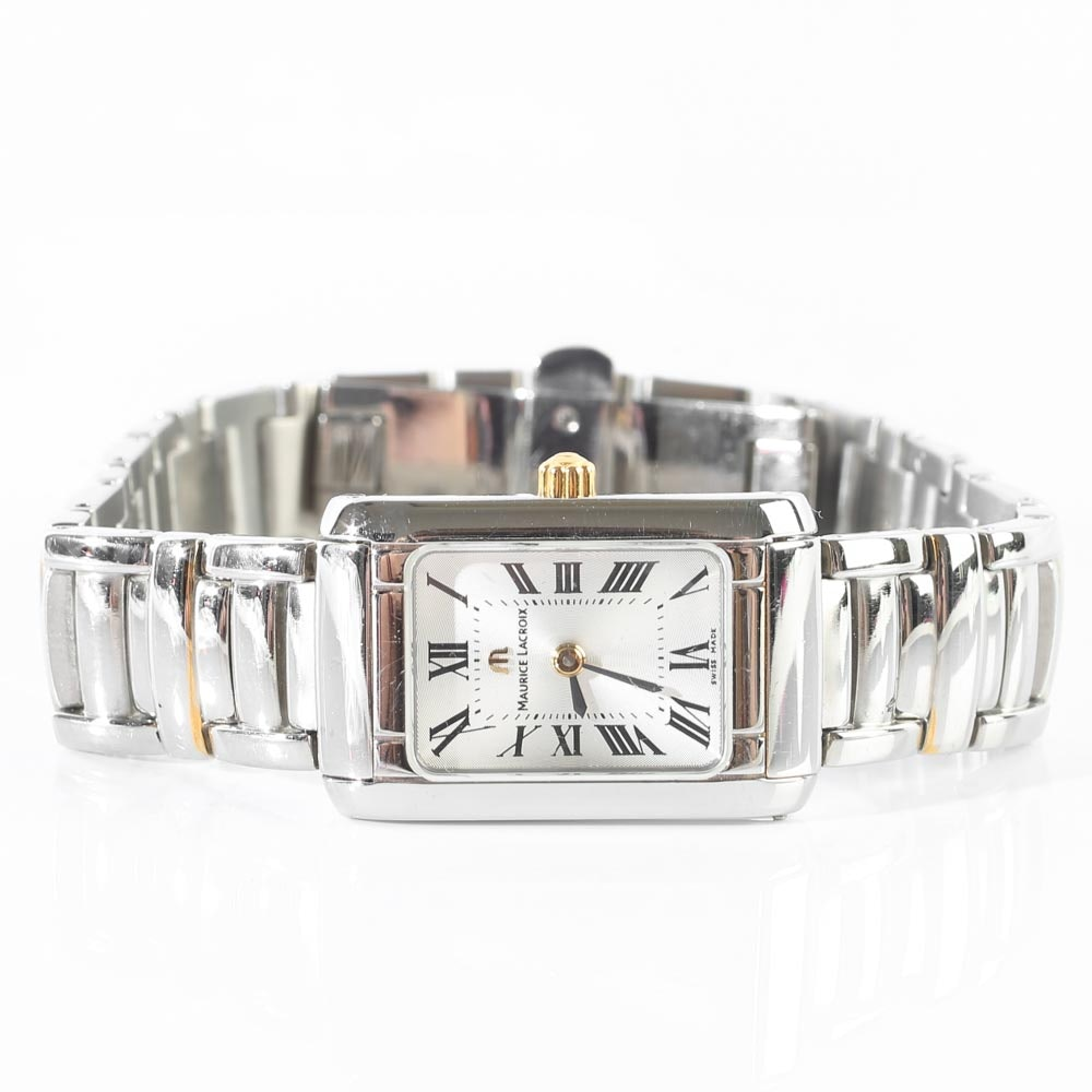 Stainless Steel Maurice Lacroix Wristwatch