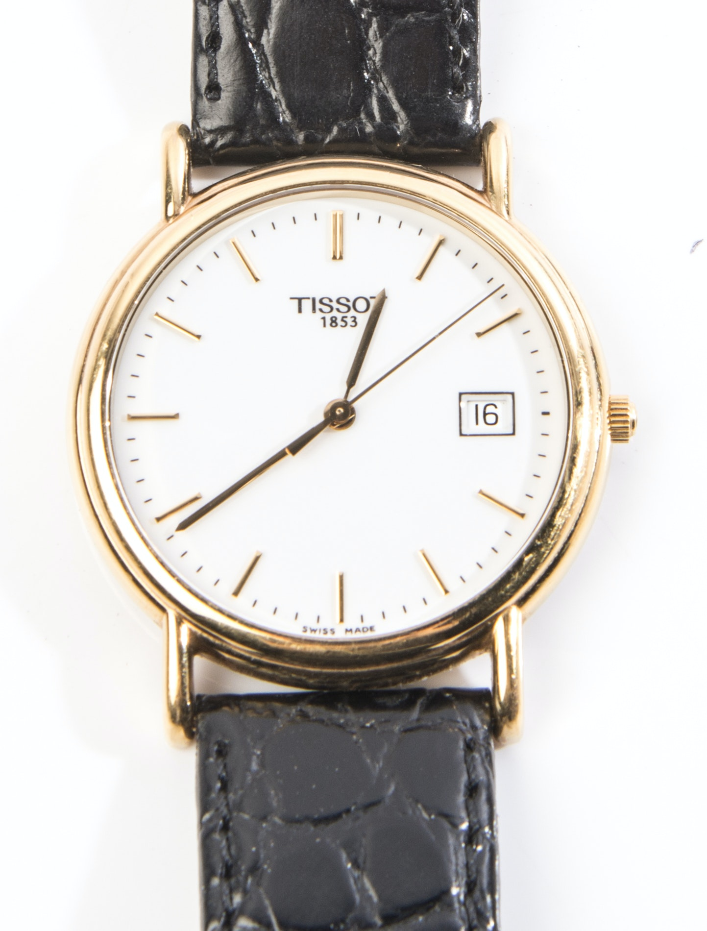 Tissot 18K Yellow Gold Wristwatch
