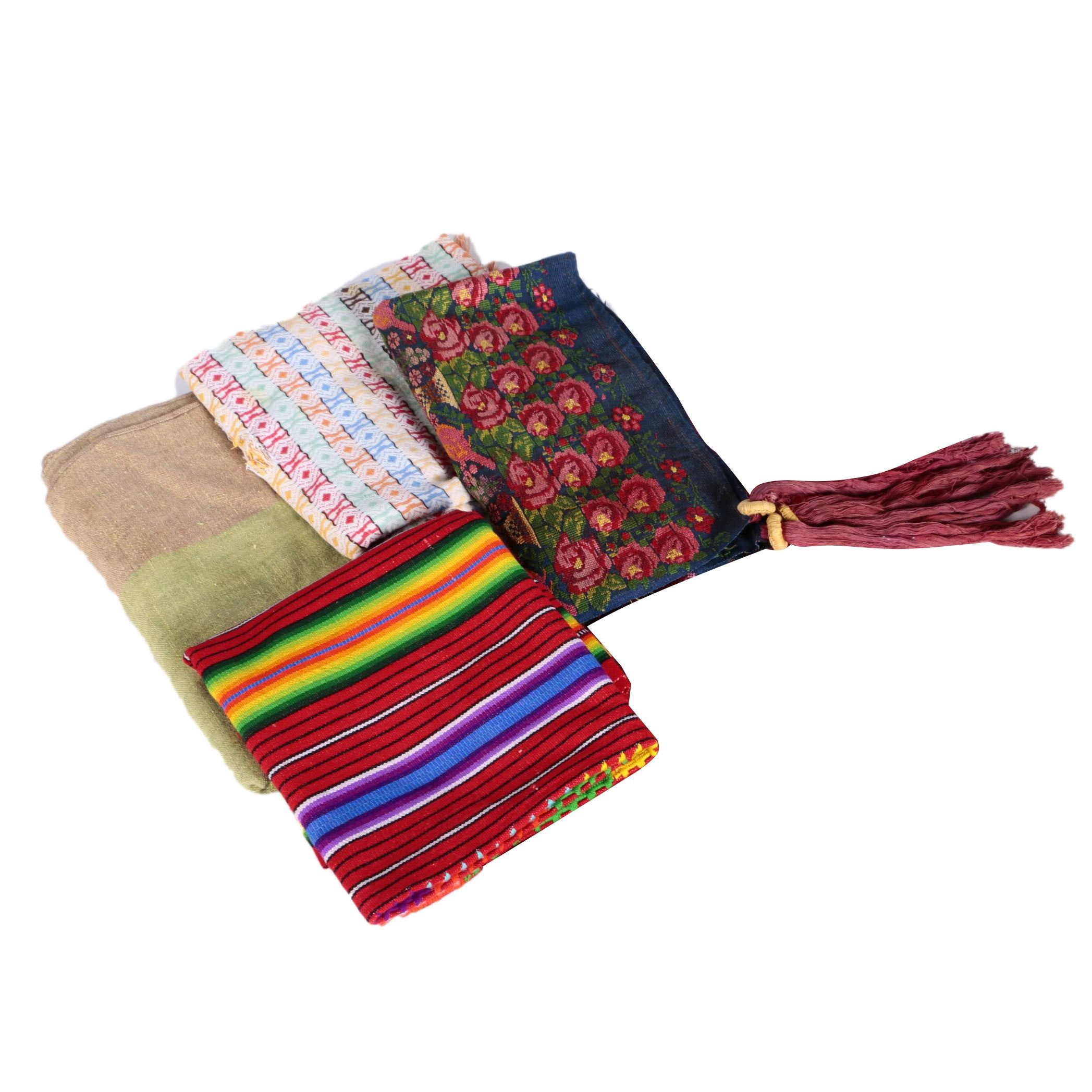 Hand Woven and Embroidered Lines