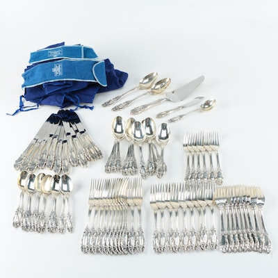 "Towle ""Grand Duchess"" Sterling Silver Flatware Set"