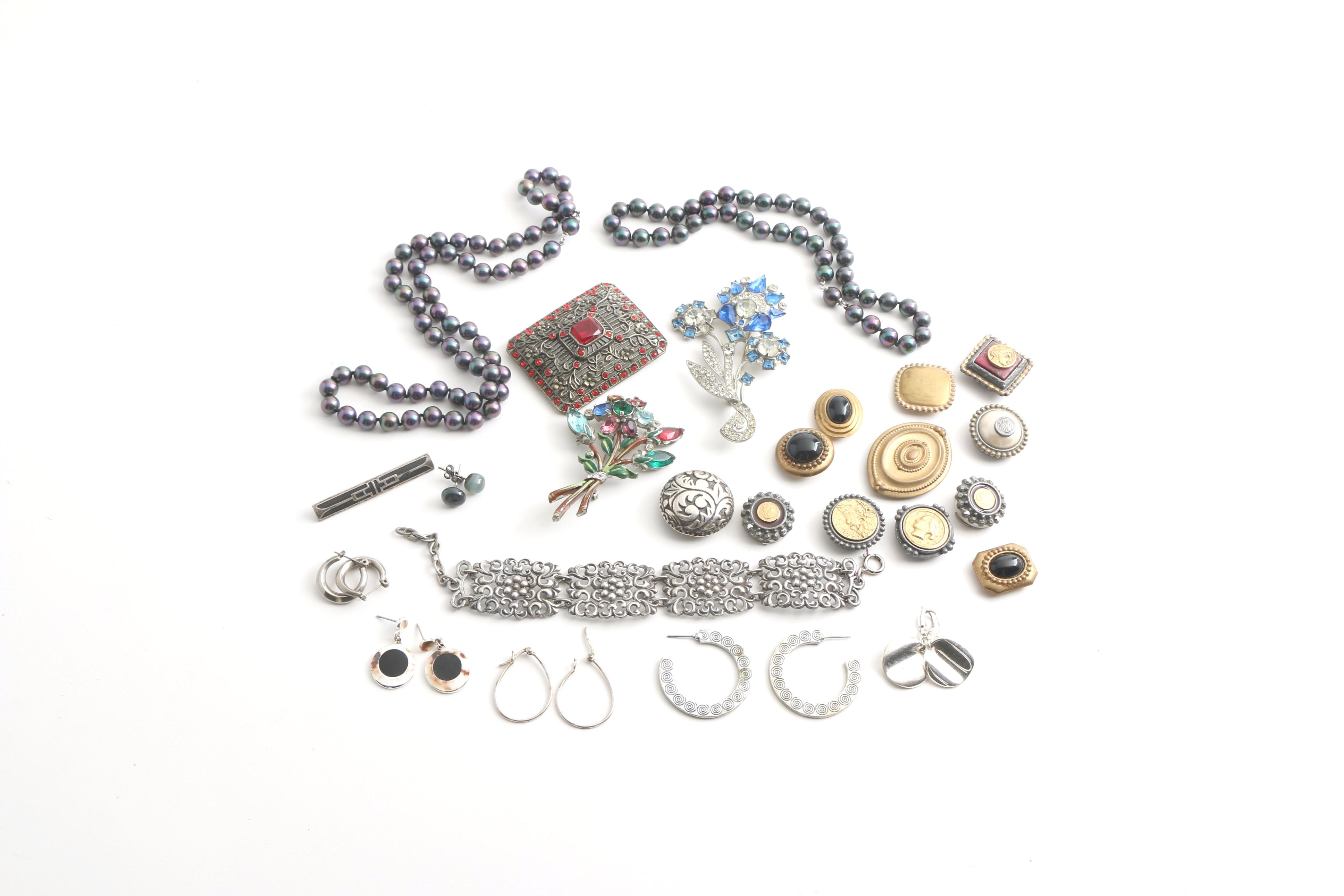 Assortment of Jewelry Including Vintage Pieces
