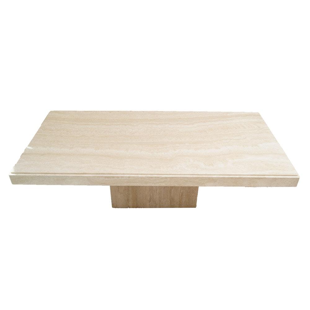 Contemporary Italian Marble Coffee Table