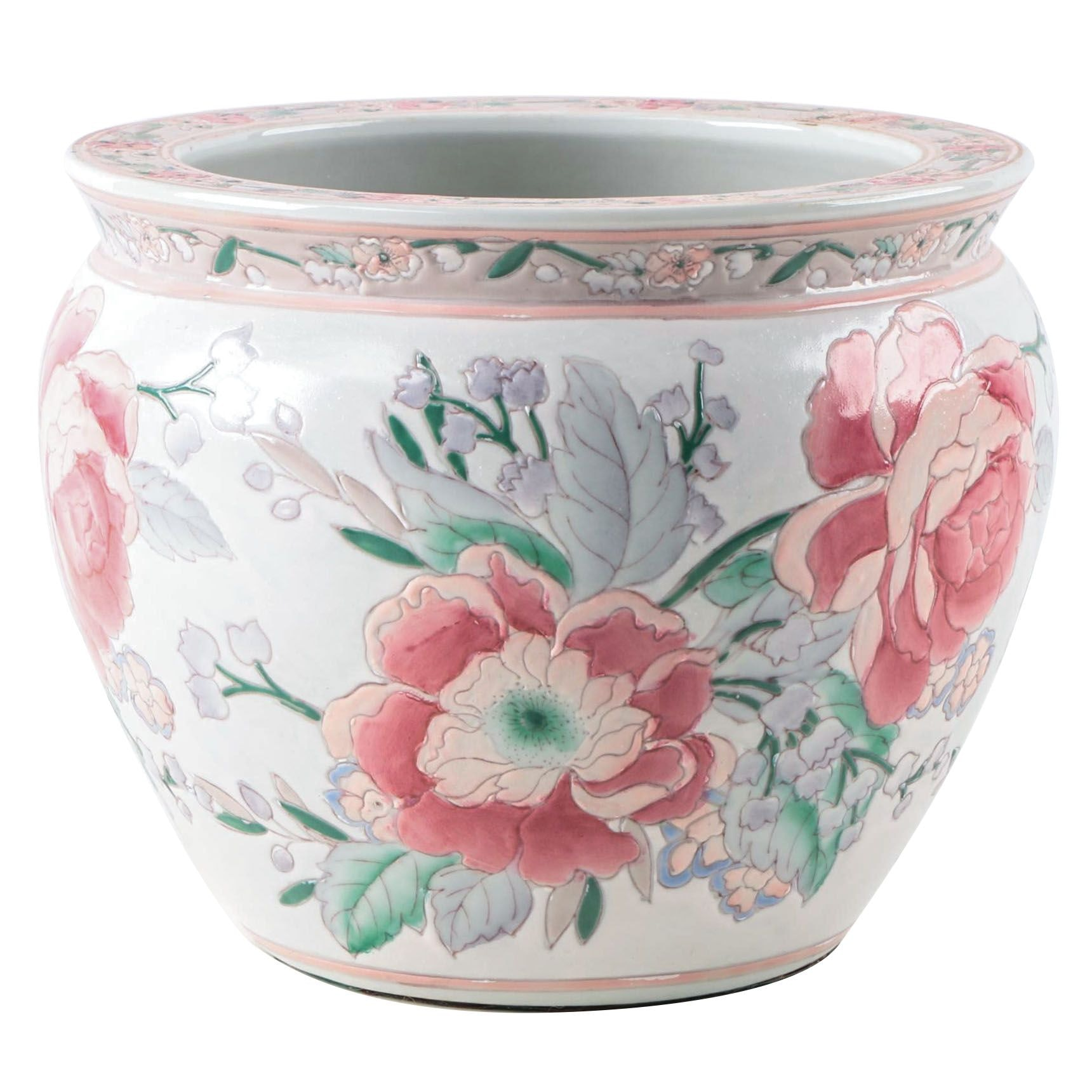 Vintage Ceramic Decorative Planter