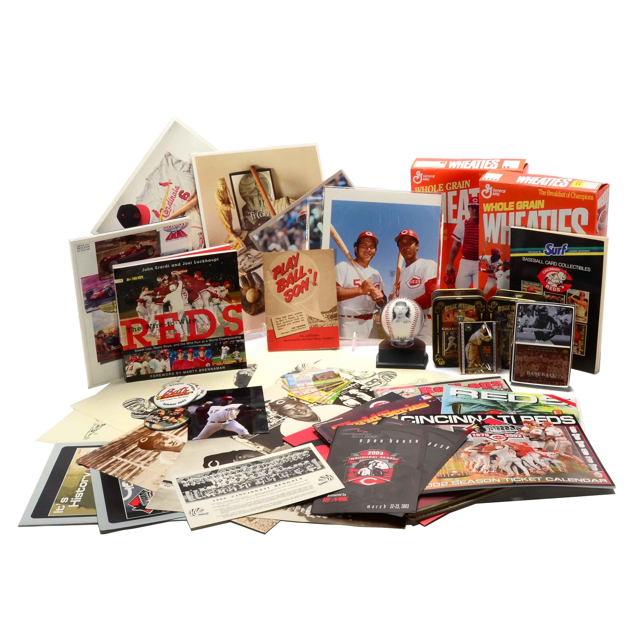 Assorted Sports Memorabilia