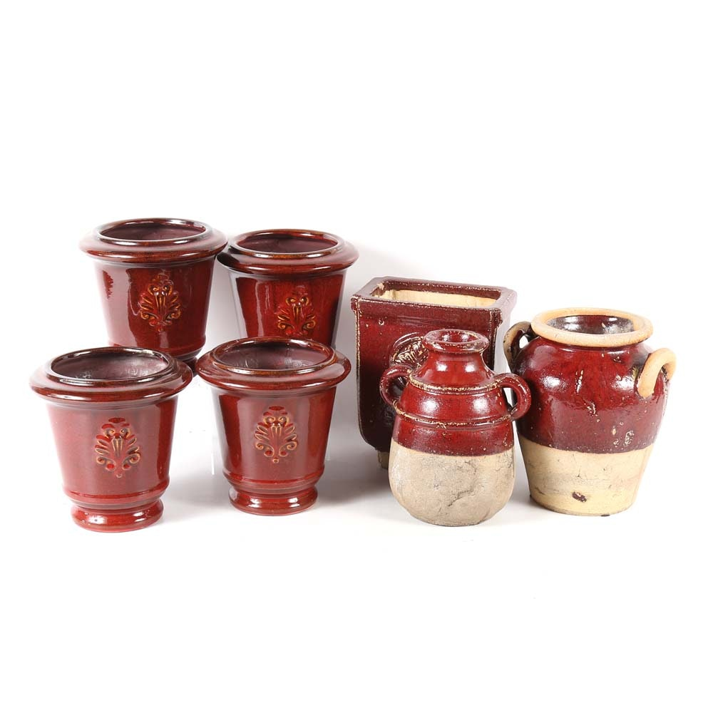 Italian Inspired Glazed Pottery
