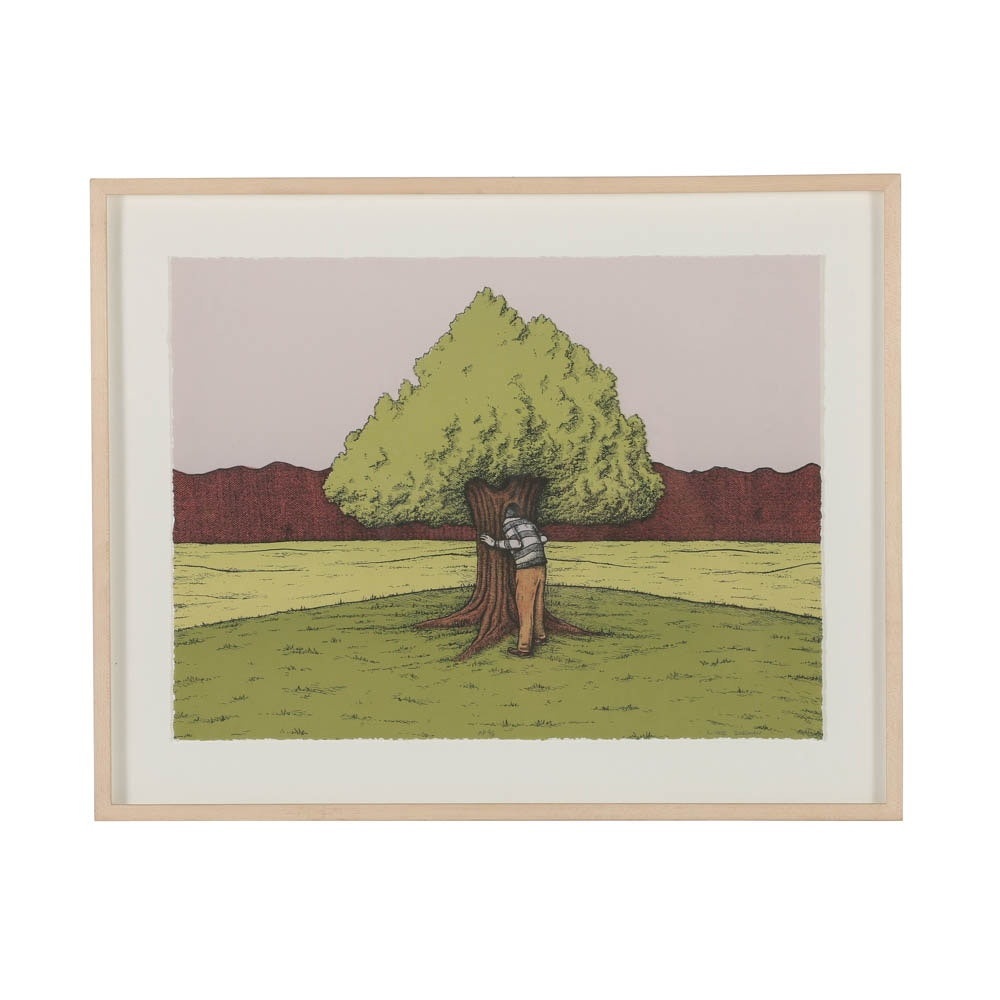 "Luke Dorman Limited Edition Lithograph ""Looking for a Place to Get Lost"""