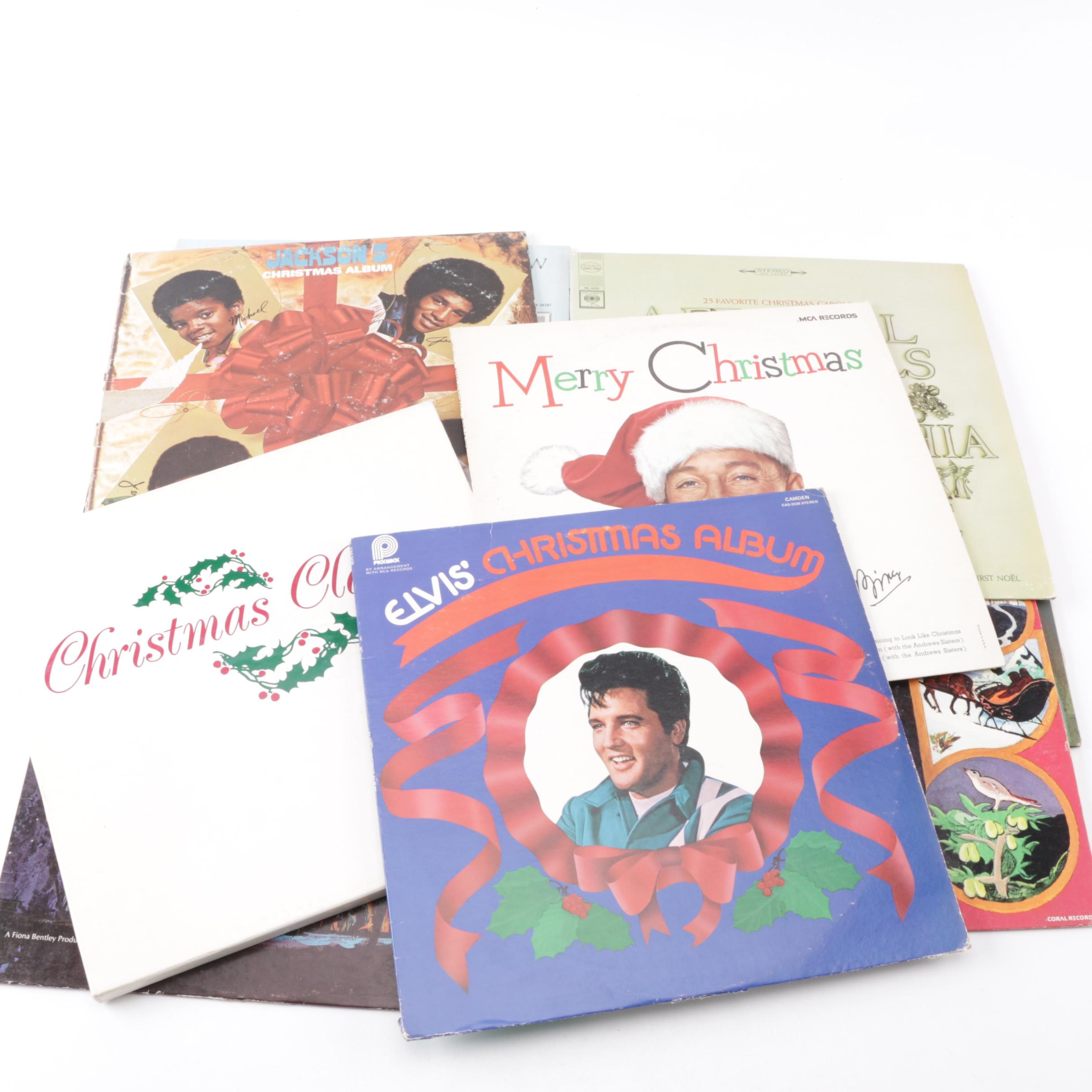 Vintage Christmas LP Records