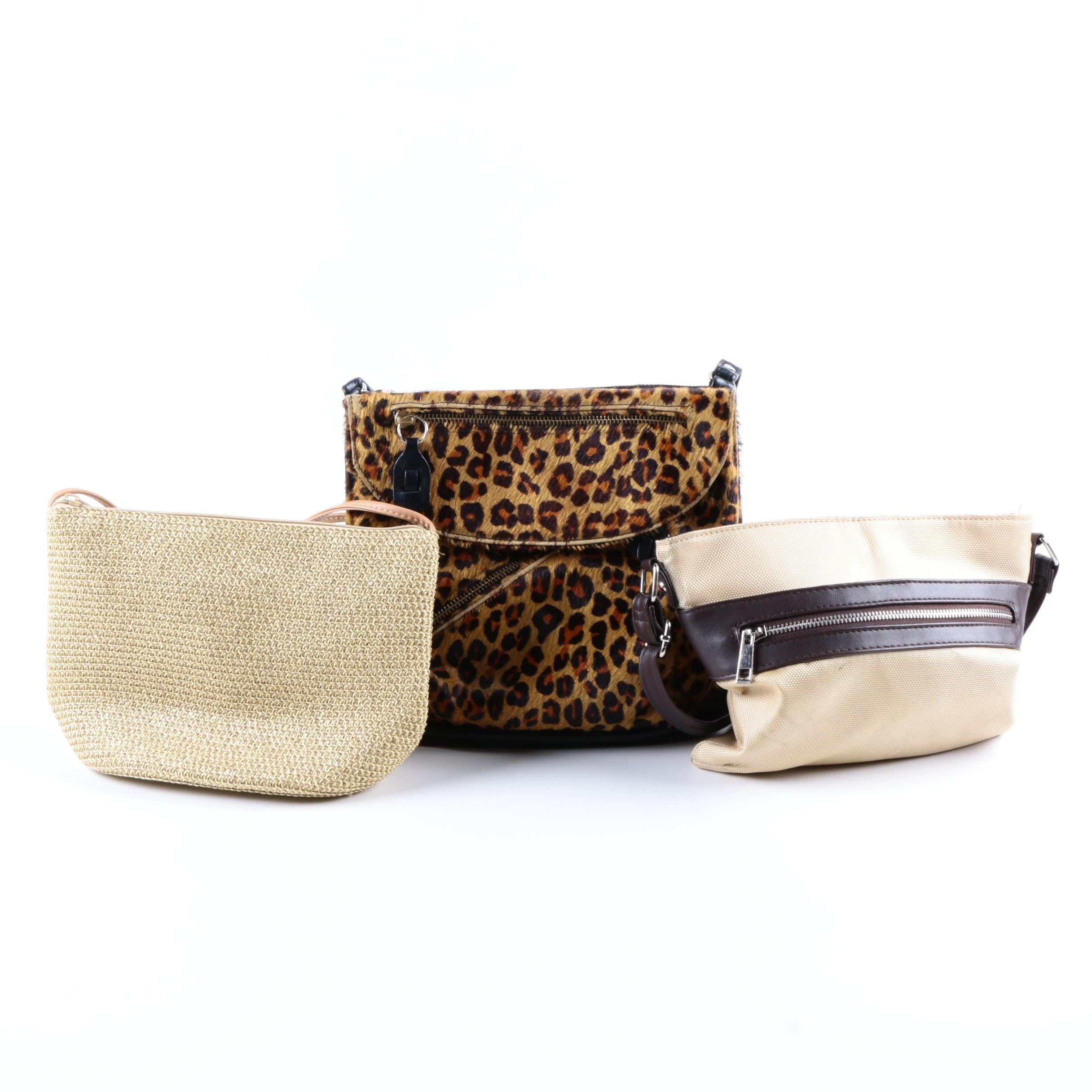 Beige and Brown Handbags