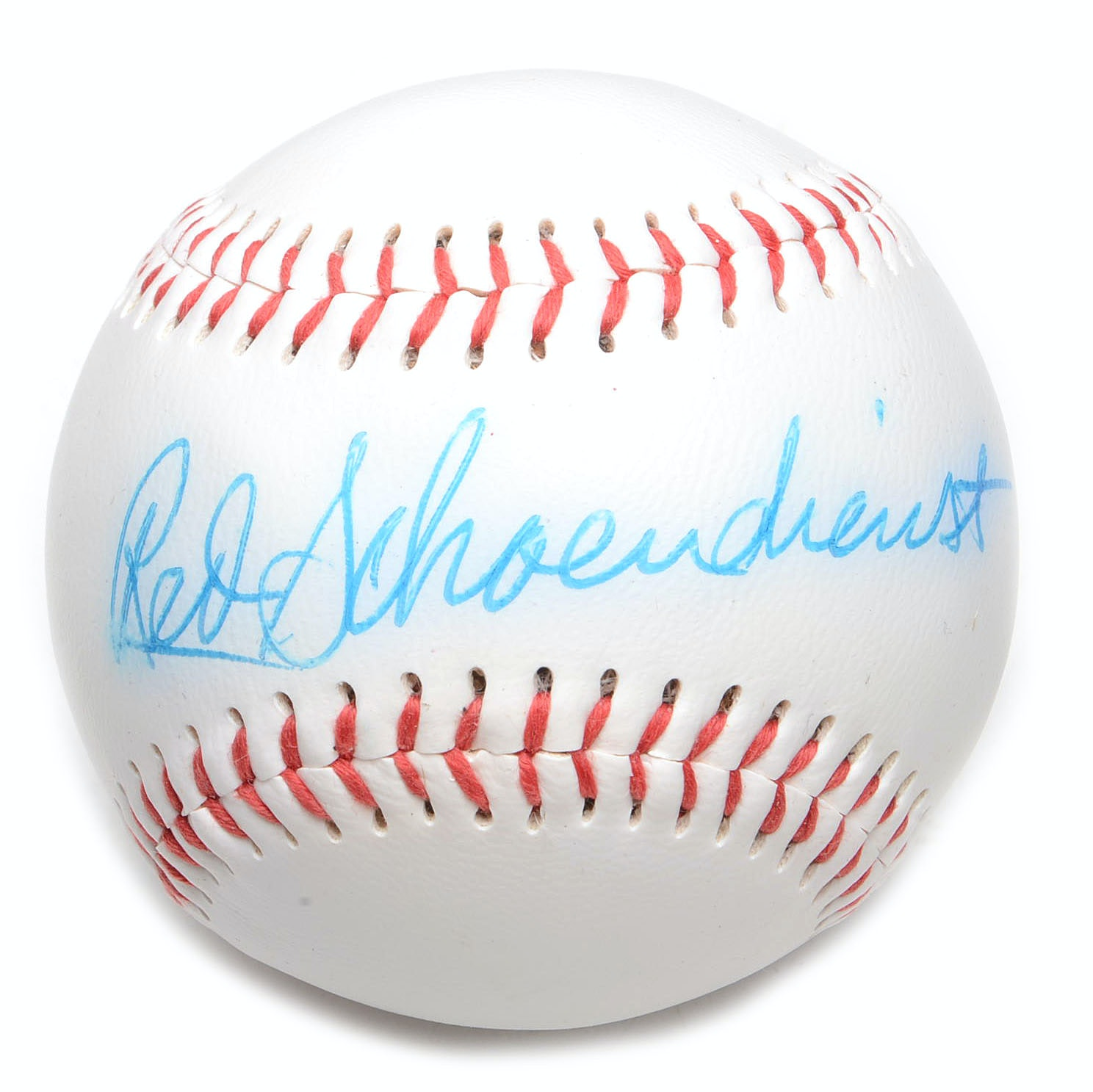 Red Schoendienst Signed Baseball  COA