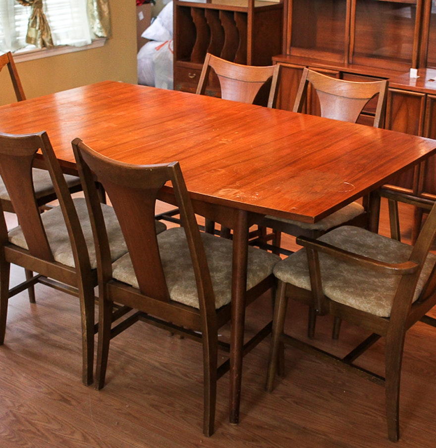 Mid Century Duncan Phyfe Dining Table with Chairs EBTH