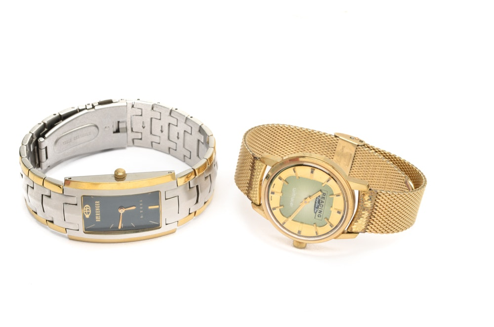 Wittnauer and Berenger Wristwatches