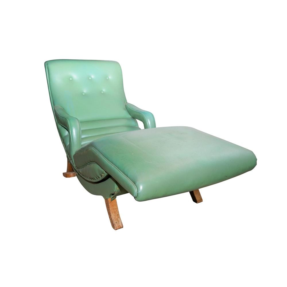 Mid Century Modern Contour Reclining Lounge Chair