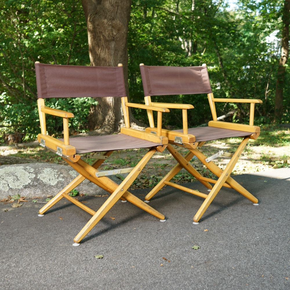 Director's Chairs by Telescope Furniture