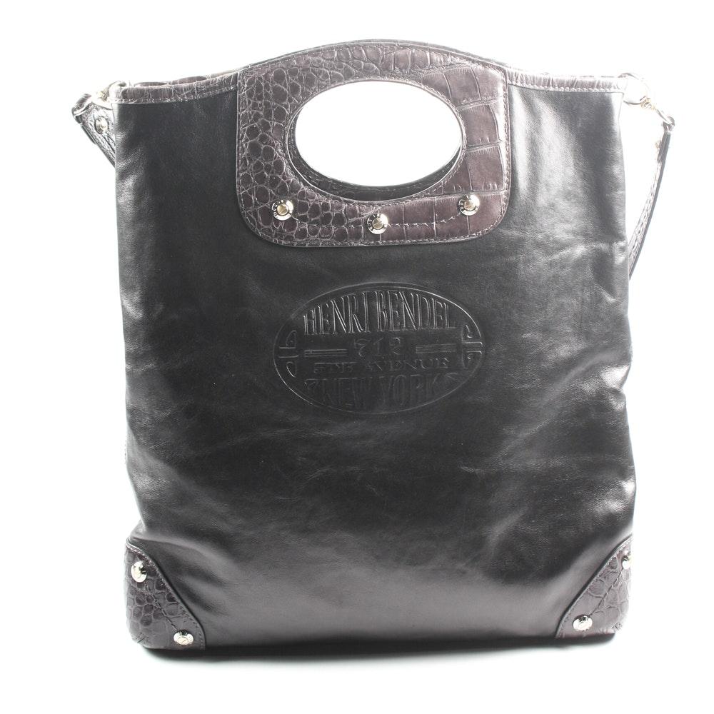 Henri Bendel Leather Tote Bag