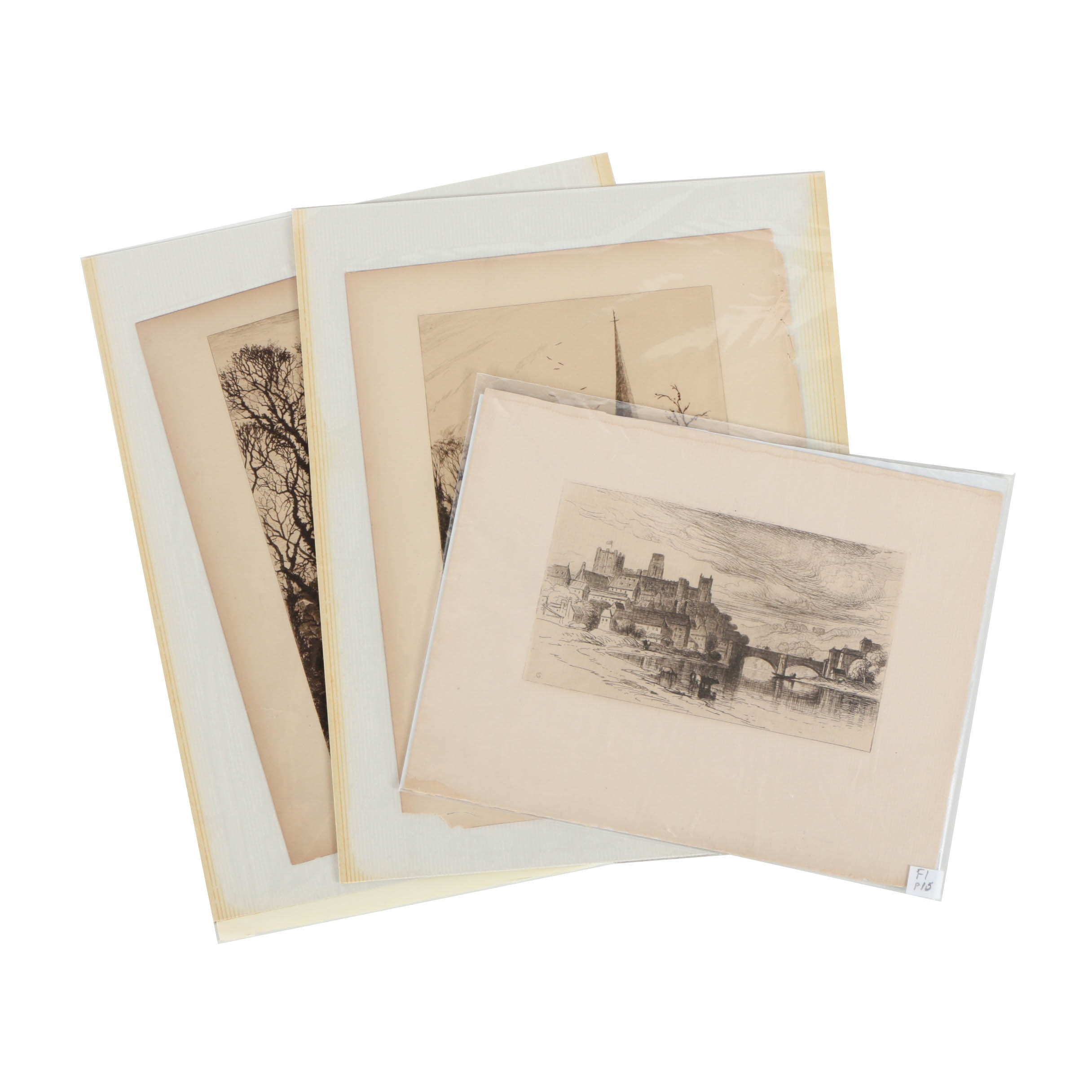 Collection of Intaglio Prints on Paper