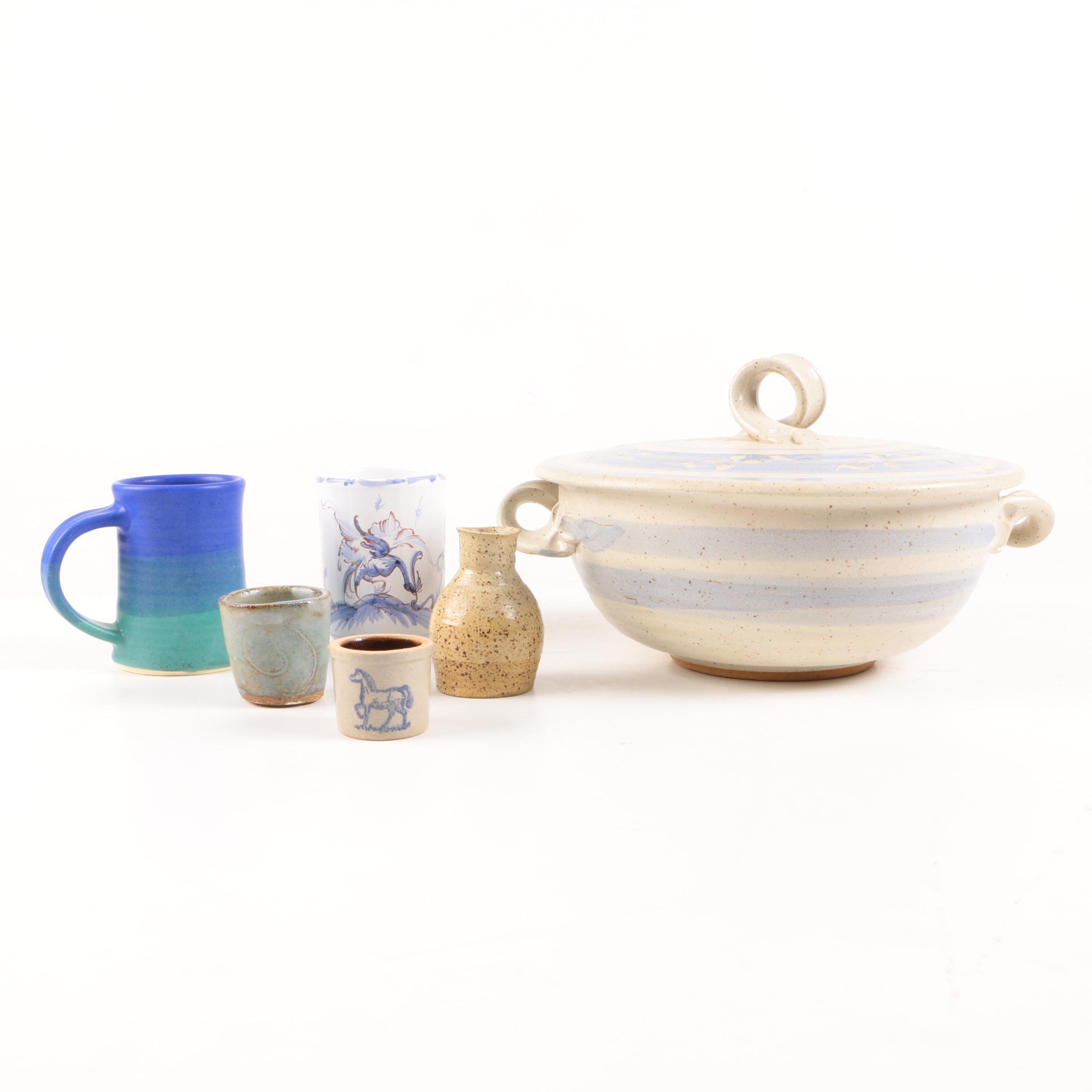 Art Pottery Tableware