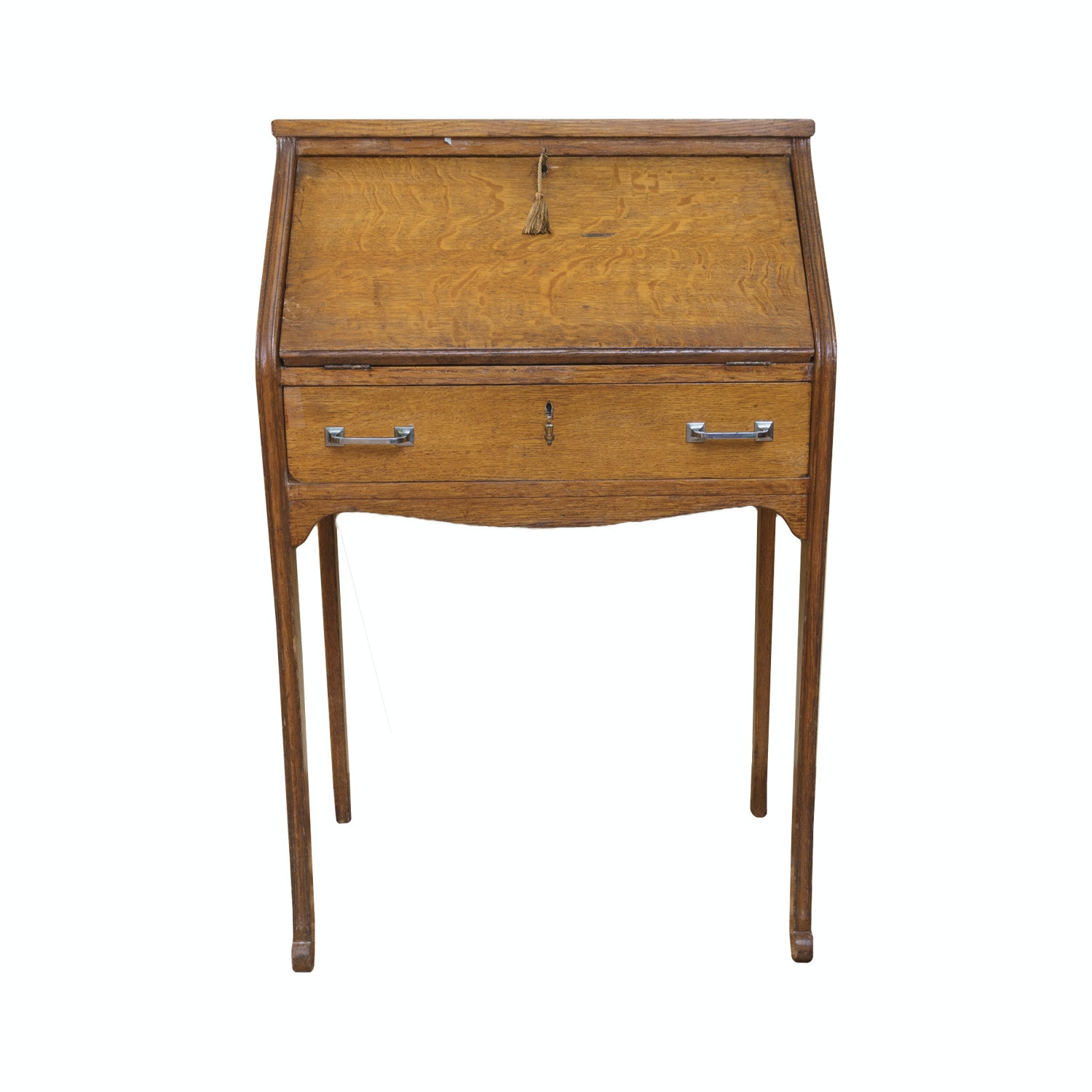 Antique Oak Writing Desk Antique Furniture