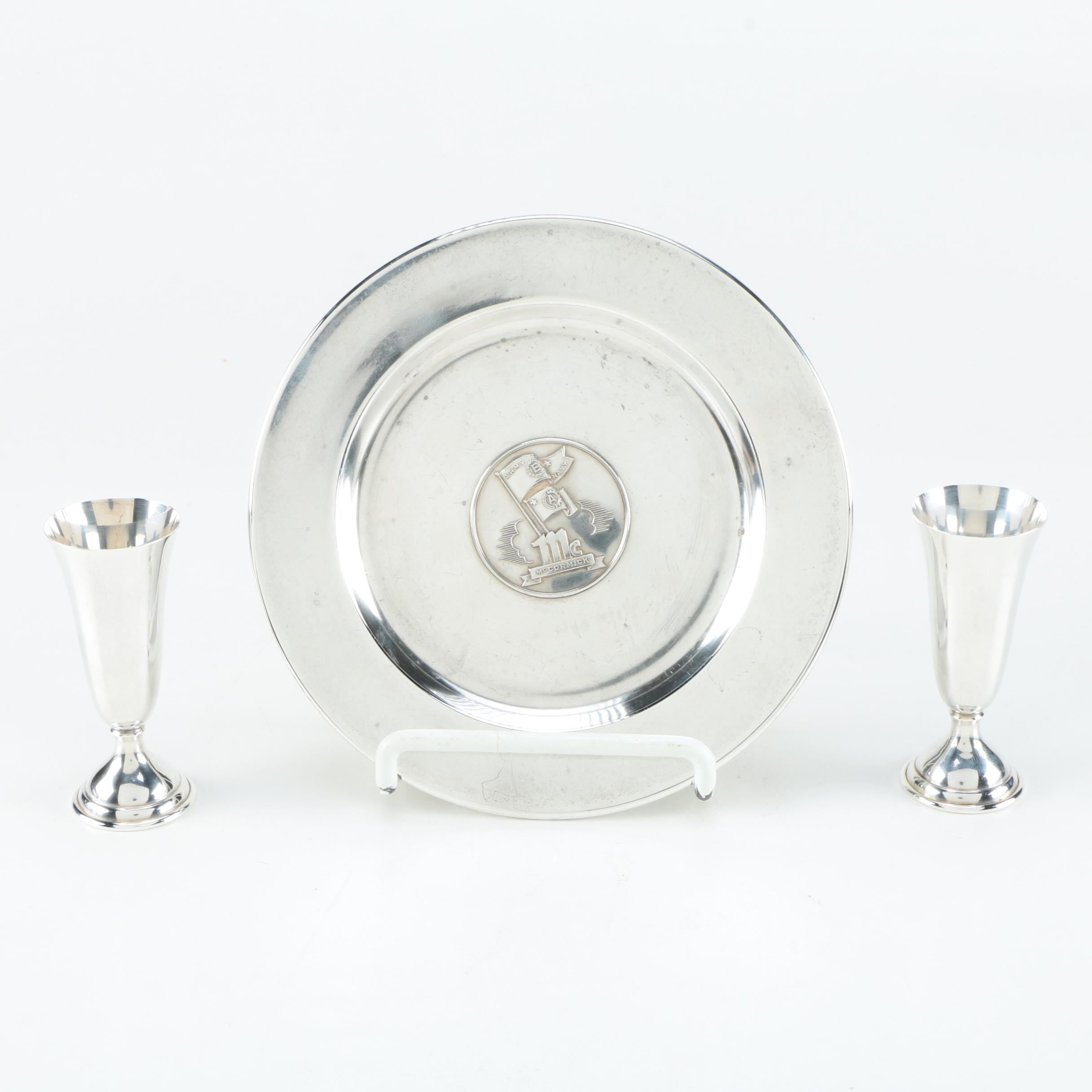 James R. Armiger Co. and Randahl Sterling Silver Tableware