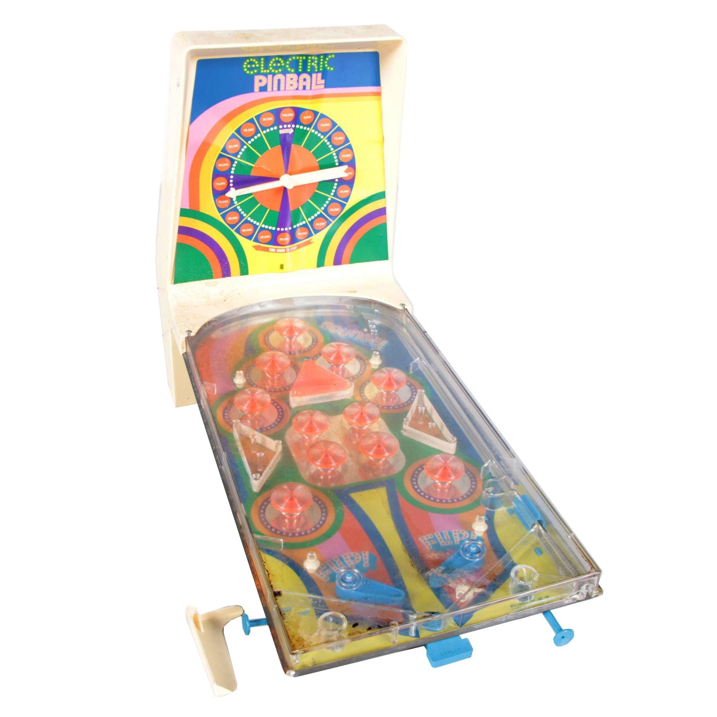 Electric Tabletop Pinball Machine