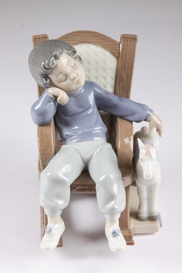 Lladr all tuckered out figurine ebth - Consider including lladro porcelain figurines home decoration ...