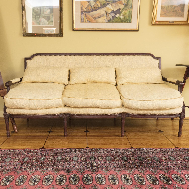 Louis XVI Style Sofa by Stoneleigh LTD