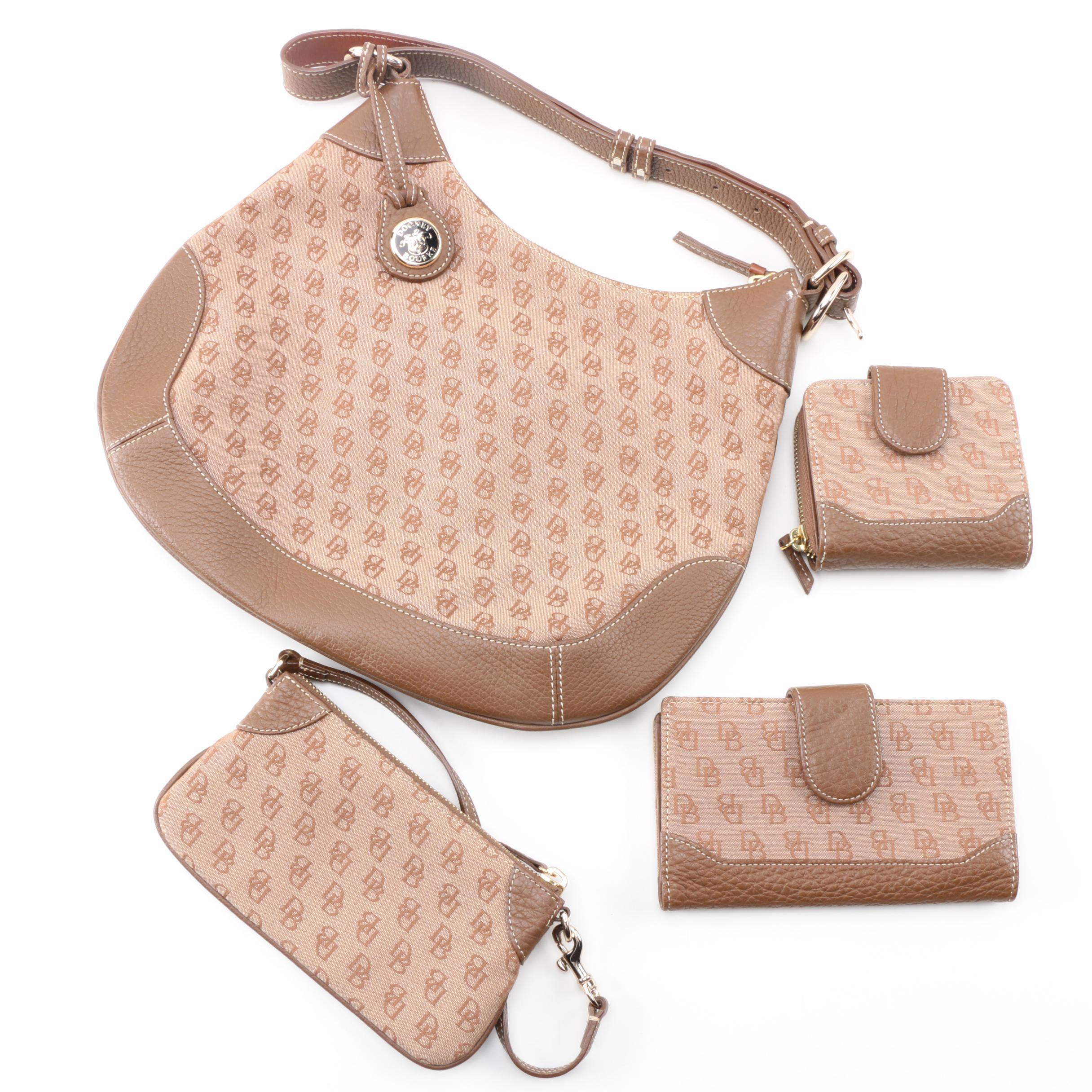 Dooney & Bourke Monogrammed Handbag and Accessories