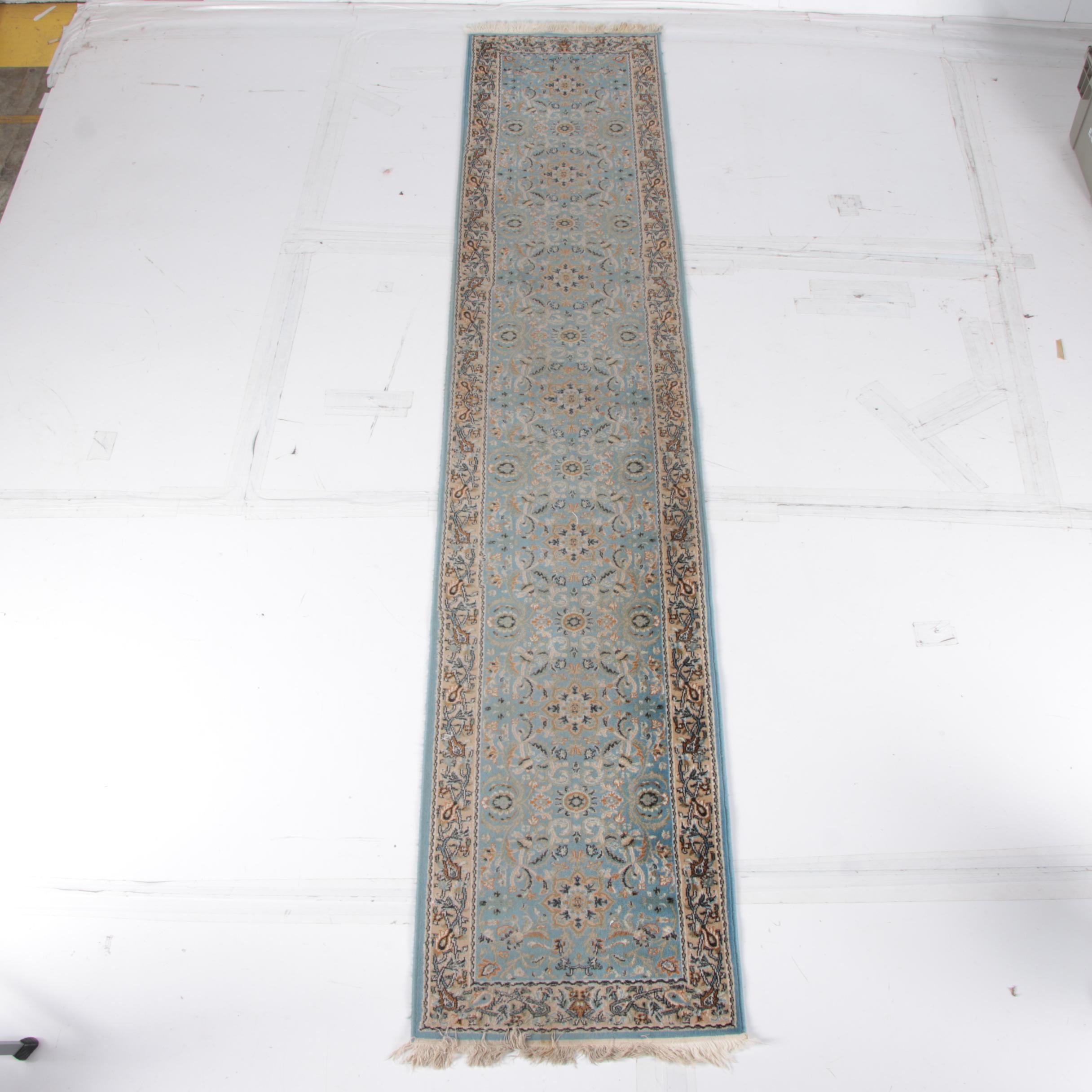 Power-Loomed Persian-Style Carpet Runner