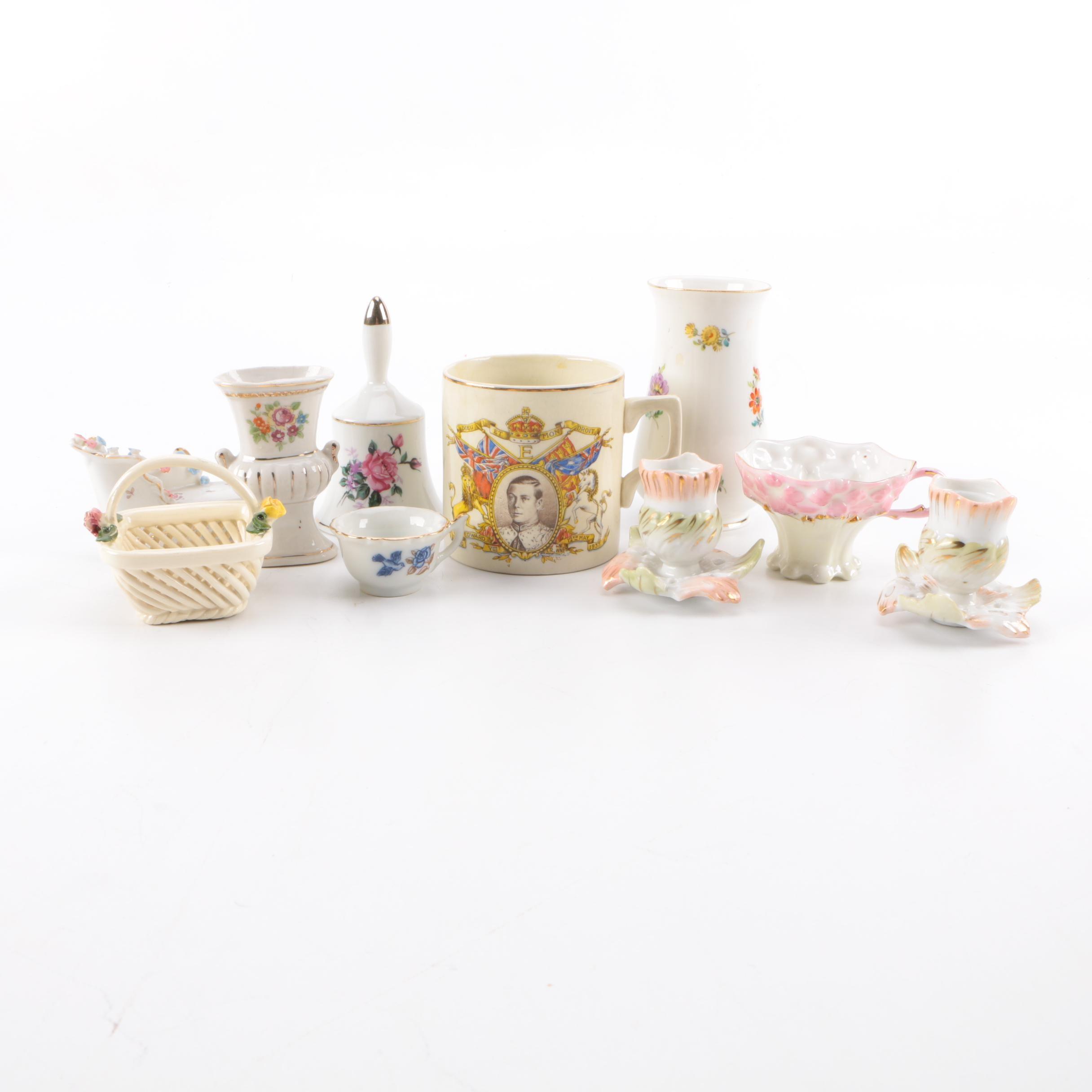 Assorted Ceramic Home Decor