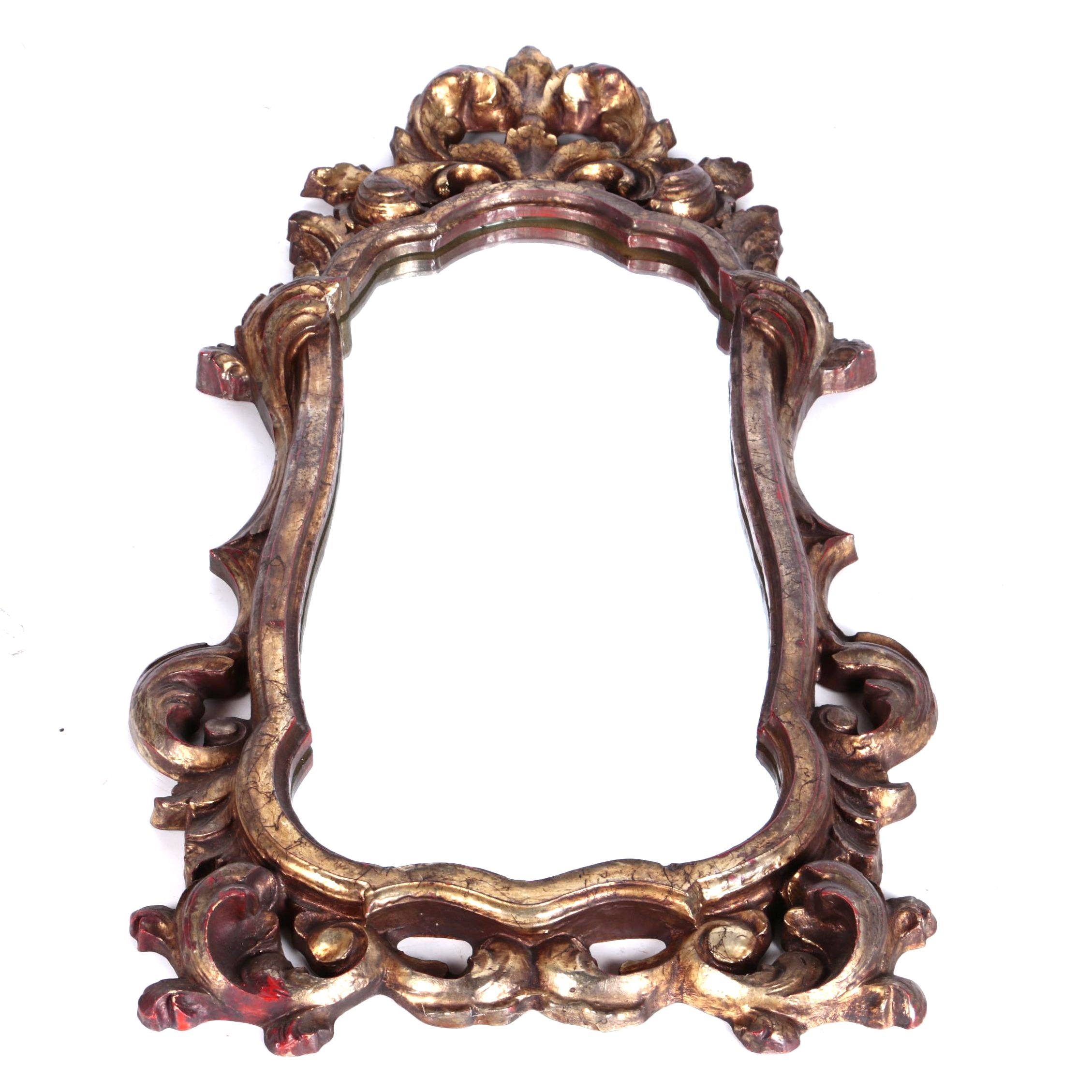 Louis XV Style Gilt Wall Mirror