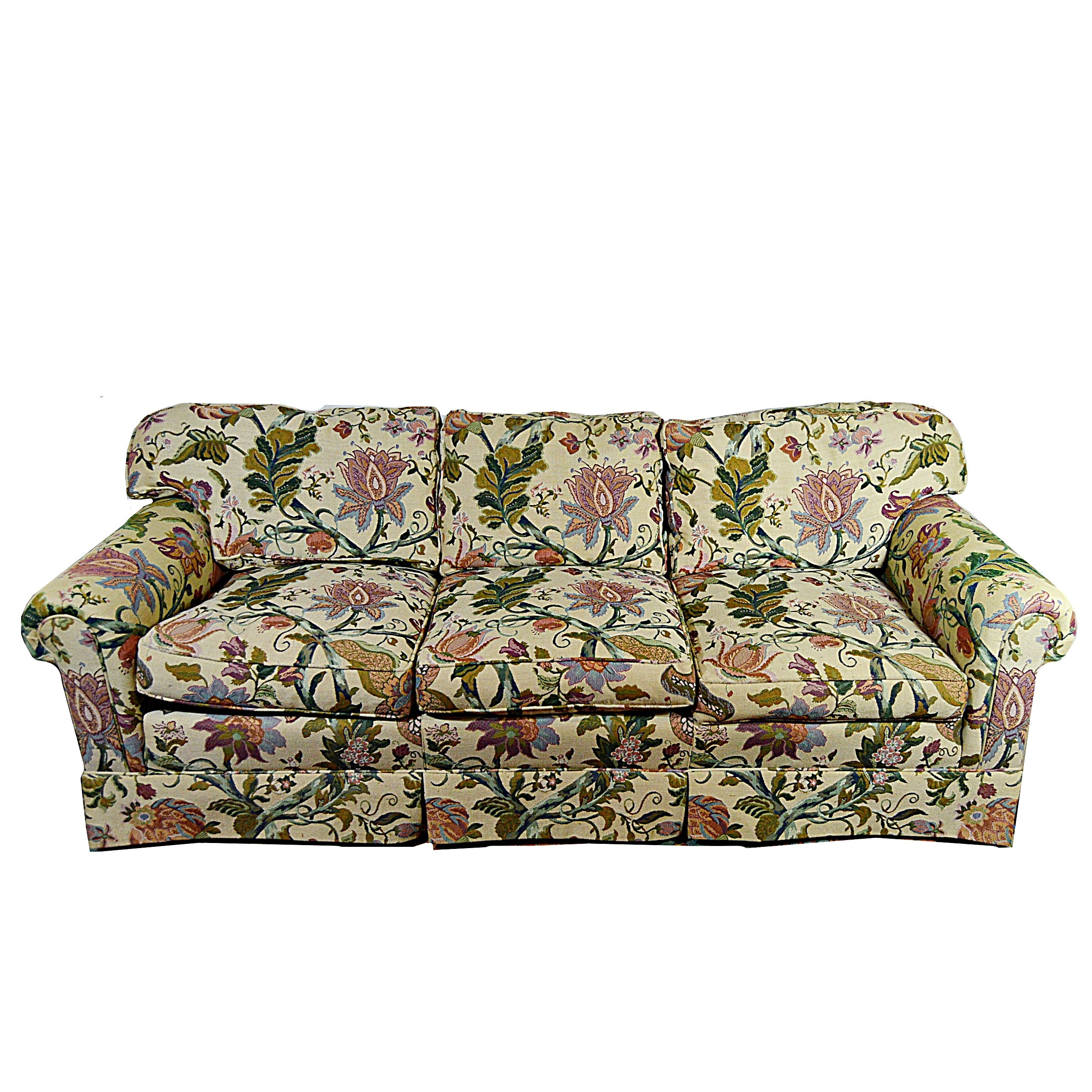 Henredon Schoonbeck Collection Down/Feather Filled Sofa ...