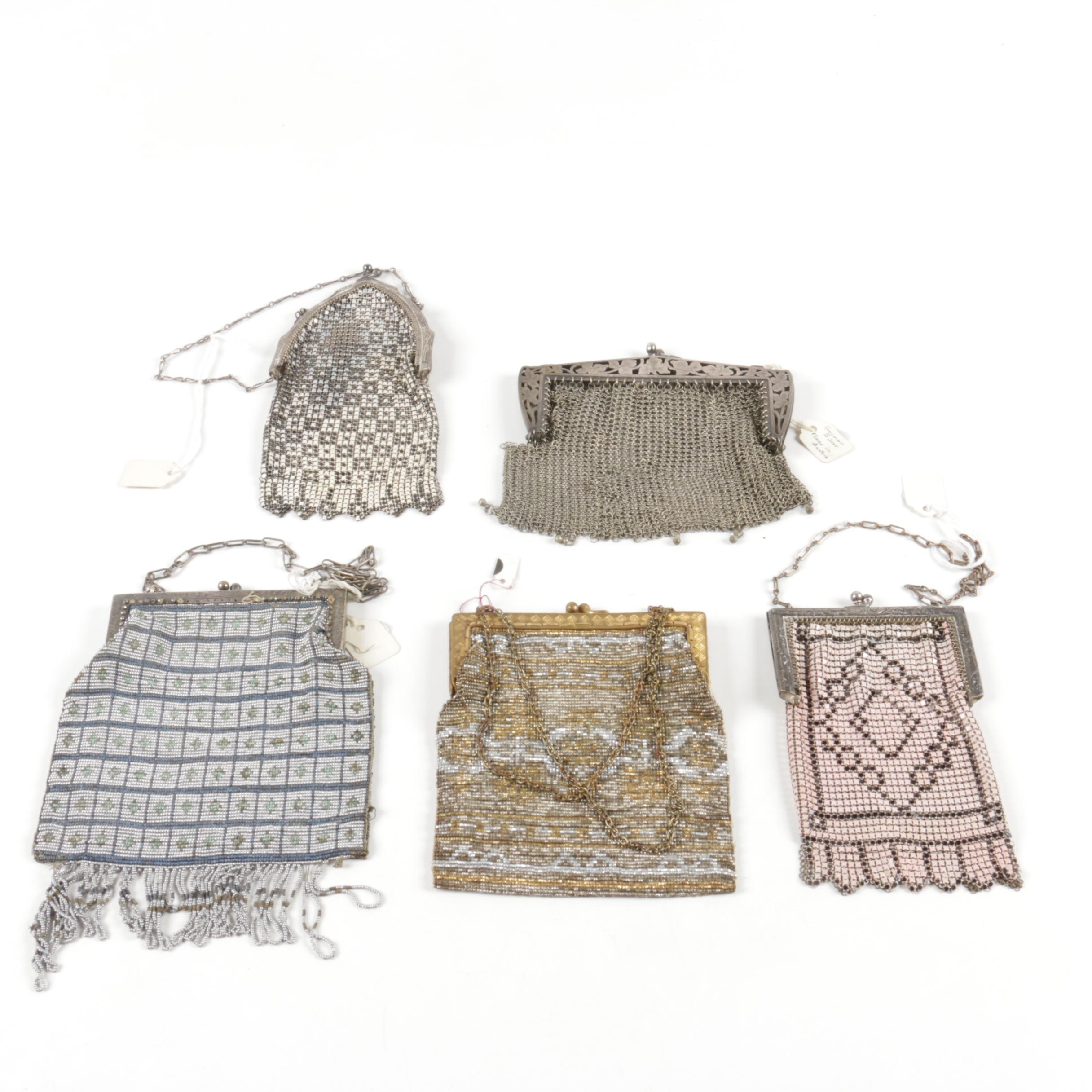 Early 20th Century Style Mesh Purses